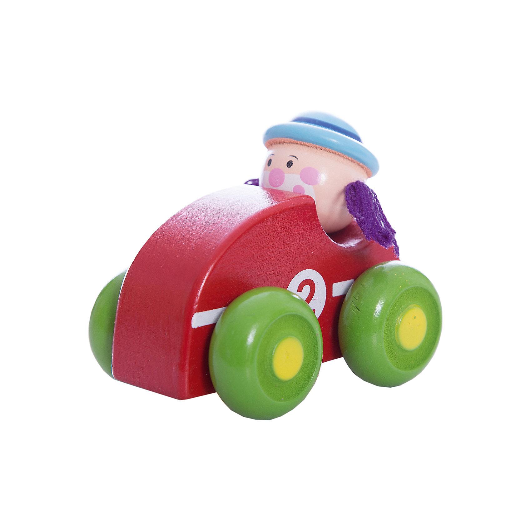 Машинка Клоун, красная, MapachaМашинки и транспорт для малышей<br>Компания Mapacha – абсолютный лидер по производству экологически чистых игрушек для детей ясельного возраста. Машинки – любимые игрушки всех маленьких мальчиков. Новая модель – яркая деревянная машинка с необычным водителем – веселым рыжим клоуном! Основной цвет игрушки – зеленый, колеса – сочного фиолетового цвета. Данная модель прослужит не один год и не потеряет своего первоначального вида. Материалы, использованные при изготовлении товара, абсолютно безопасны и отвечают всем международным требованиям по качеству.<br><br>Дополнительные характеристики:<br><br>материал: натуральное дерево, текстиль;<br>цвет: красный;<br>габариты: 16 X 6 X 15 см.<br><br>Машинку Клоун от компании Mapacha можно приобрести в нашем магазине.<br><br>Ширина мм: 430<br>Глубина мм: 325<br>Высота мм: 410<br>Вес г: 125<br>Возраст от месяцев: 36<br>Возраст до месяцев: 72<br>Пол: Унисекс<br>Возраст: Детский<br>SKU: 5032499