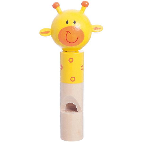 Свистулька Жирафик, MapachaДетские музыкальные инструменты<br>Свистулька – игрушка, которая необходима каждому ребенку. Интересная свистулька, выполненная в форме жирафика понравится всем малышам без исключения! Громкий, чистый звук, натуральное дерево, яркие цвета, стильный дизайн – достоинства новой модели. Игрушка – свистулька развивает мелкую моторику, улучшает слуховое восприятие и память малыша. Подарите своему ребенку радость игры на музыкальных инструментах! Материалы, использованные при изготовлении товара, абсолютно безопасны и отвечают всем международным требованиям по качеству.<br><br>Дополнительные характеристики:<br><br>материал: натуральное дерево;<br>цвет: разноцветный;<br>габариты: 75 X 1 X 19 смю<br><br>Свистульку Жирафик от компании Mapacha можно приобрести в нашем магазине.<br><br>Ширина мм: 480<br>Глубина мм: 490<br>Высота мм: 420<br>Вес г: 23<br>Возраст от месяцев: 36<br>Возраст до месяцев: 96<br>Пол: Унисекс<br>Возраст: Детский<br>SKU: 5032500