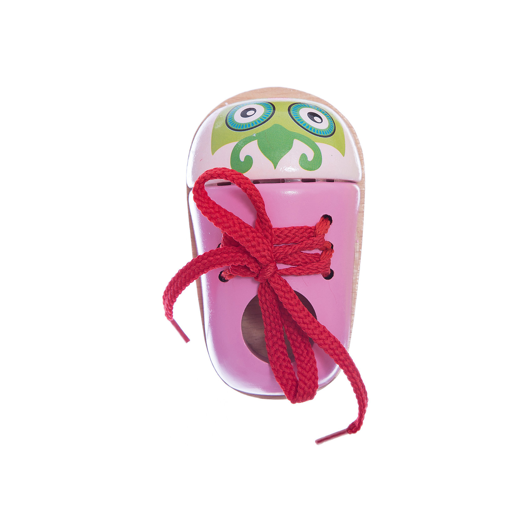 Шнуровка Ботиночек Совушка, MapachaРазвивающие игрушки<br>Шнуровки – вид развивающих игрушек, которые обучают ребенка практическим навыкам. Шнуровка научит обращаться со шнурками, завязывать узелки и бантики. Красивый дизайн игрушки, интересный рисунок, экологический материал, яркие цвета и стильный дизайн сделают модель любимой вещицей у малыша. Игрушка тренирует мелкую моторику, аккуратность, а так же тренирует логику и воображение. Материалы, использованные при изготовлении товара, абсолютно безопасны и отвечают всем международным требованиям по качеству.<br><br>Дополнительные характеристики:<br><br>материал: натуральное дерево, текстиль;<br>цвет: разноцветный;<br>габариты: 10 X 4 X 19 см.<br><br>Шнуровку Ботиночек Совушка от компании Mapacha можно приобрести в нашем магазине.<br><br>Ширина мм: 430<br>Глубина мм: 430<br>Высота мм: 245<br>Вес г: 109<br>Возраст от месяцев: 36<br>Возраст до месяцев: 84<br>Пол: Унисекс<br>Возраст: Детский<br>SKU: 5032501