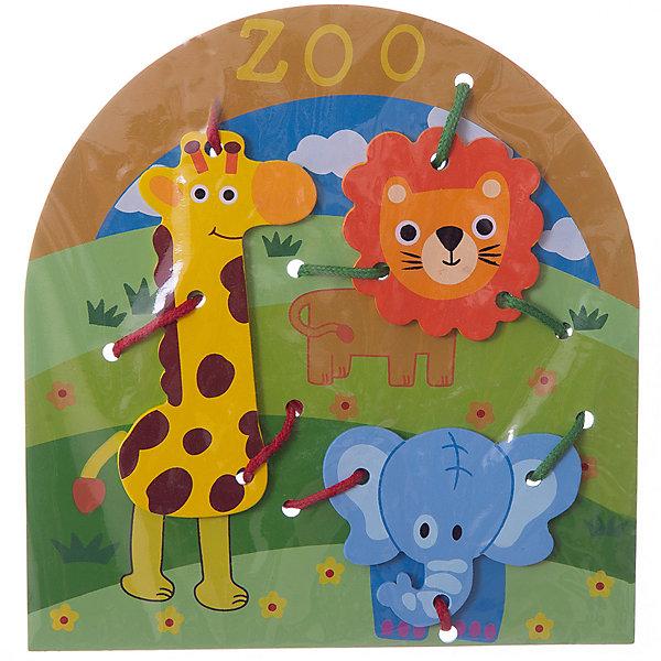 Шнуровка Животные, MapachaШнуровки<br>Шнуровки – вид развивающих игрушек, которые обучают ребенка практическим навыкам. Шнуровка научит обращаться со шнурками, завязывать узелки и бантики. Красивый дизайн игрушки, интересный рисунок, экологический материал, яркие цвета и стильный дизайн сделают модель любимой вещицей у малыша. Игрушка тренирует мелкую моторику, аккуратность, а так же тренирует логику и воображение. Материалы, использованные при изготовлении товара, абсолютно безопасны и отвечают всем международным требованиям по качеству.<br><br>Дополнительные характеристики:<br><br>материал: натуральное дерево, текстиль;<br>цвет: разноцветный;<br>габариты: 27 X 1 X 41 см.<br><br>Шнуровку Животные от компании Mapacha можно приобрести в нашем магазине.<br>Ширина мм: 425; Глубина мм: 590; Высота мм: 225; Вес г: 76; Возраст от месяцев: 36; Возраст до месяцев: 84; Пол: Унисекс; Возраст: Детский; SKU: 5032503;