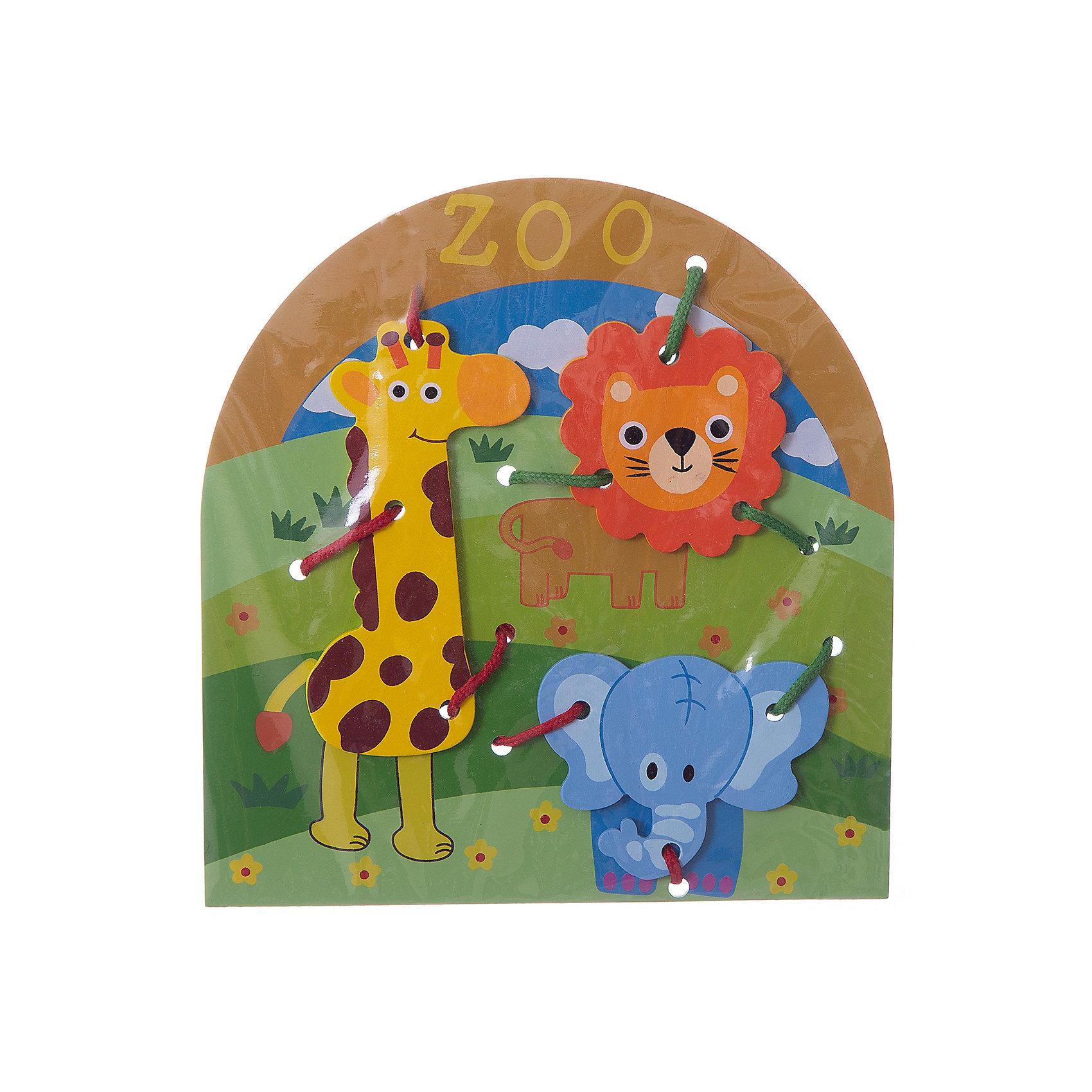 Шнуровка Животные, MapachaШнуровки – вид развивающих игрушек, которые обучают ребенка практическим навыкам. Шнуровка научит обращаться со шнурками, завязывать узелки и бантики. Красивый дизайн игрушки, интересный рисунок, экологический материал, яркие цвета и стильный дизайн сделают модель любимой вещицей у малыша. Игрушка тренирует мелкую моторику, аккуратность, а так же тренирует логику и воображение. Материалы, использованные при изготовлении товара, абсолютно безопасны и отвечают всем международным требованиям по качеству.<br><br>Дополнительные характеристики:<br><br>материал: натуральное дерево, текстиль;<br>цвет: разноцветный;<br>габариты: 27 X 1 X 41 см.<br><br>Шнуровку Животные от компании Mapacha можно приобрести в нашем магазине.<br><br>Ширина мм: 425<br>Глубина мм: 590<br>Высота мм: 225<br>Вес г: 76<br>Возраст от месяцев: 36<br>Возраст до месяцев: 84<br>Пол: Унисекс<br>Возраст: Детский<br>SKU: 5032503