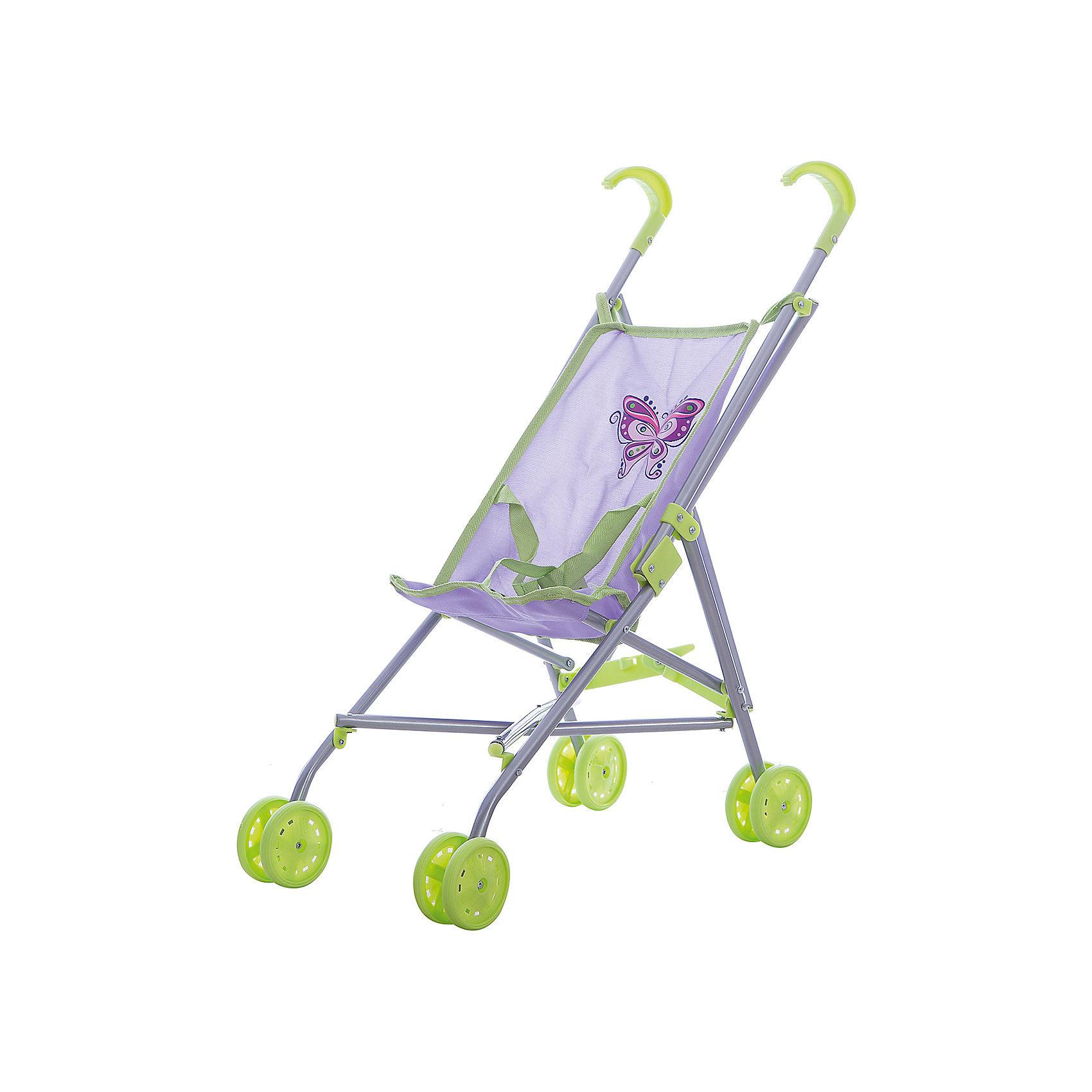 кукольная коляска трость 35 5 24 5 52 см fei li toys Mary Poppins Коляска-трость Бабочка 51*26,5*55см., Mary Poppins