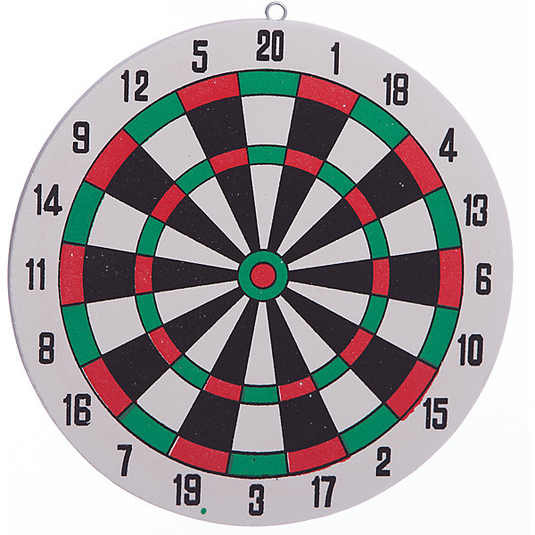 Дартс, 25 см, X-MatchИгровые наборы<br>Дартс – классическая игрушка, которая остается на пике популярности многие десятилетия. Диаметр игрушки – 25 сантиметра, что позволит установить мишень в любую комнату. В комплект входят 6 дротиков. Детали имеют острый конец, поэтому необходимо играть под присмотром взрослых. Игрушка развивает ловкость, концентрацию и внимание. Соревнуйтесь с друзьями, устраивайте турниры или просто тренируйте свою меткость! Материалы, использованные при изготовлении товара, абсолютно безопасны и отвечают всем международным требованиям по качеству.<br><br>Дополнительные характеристики:<br><br>материал: пластик, металл;<br>диаметр: 25 см.<br><br>Дартс, диаметром 25 см от компании X-Match можно приобрести в нашем магазине.<br>Ширина мм: 350; Глубина мм: 440; Высота мм: 30; Вес г: 70; Возраст от месяцев: 36; Возраст до месяцев: 2147483647; Пол: Унисекс; Возраст: Детский; SKU: 5032525;