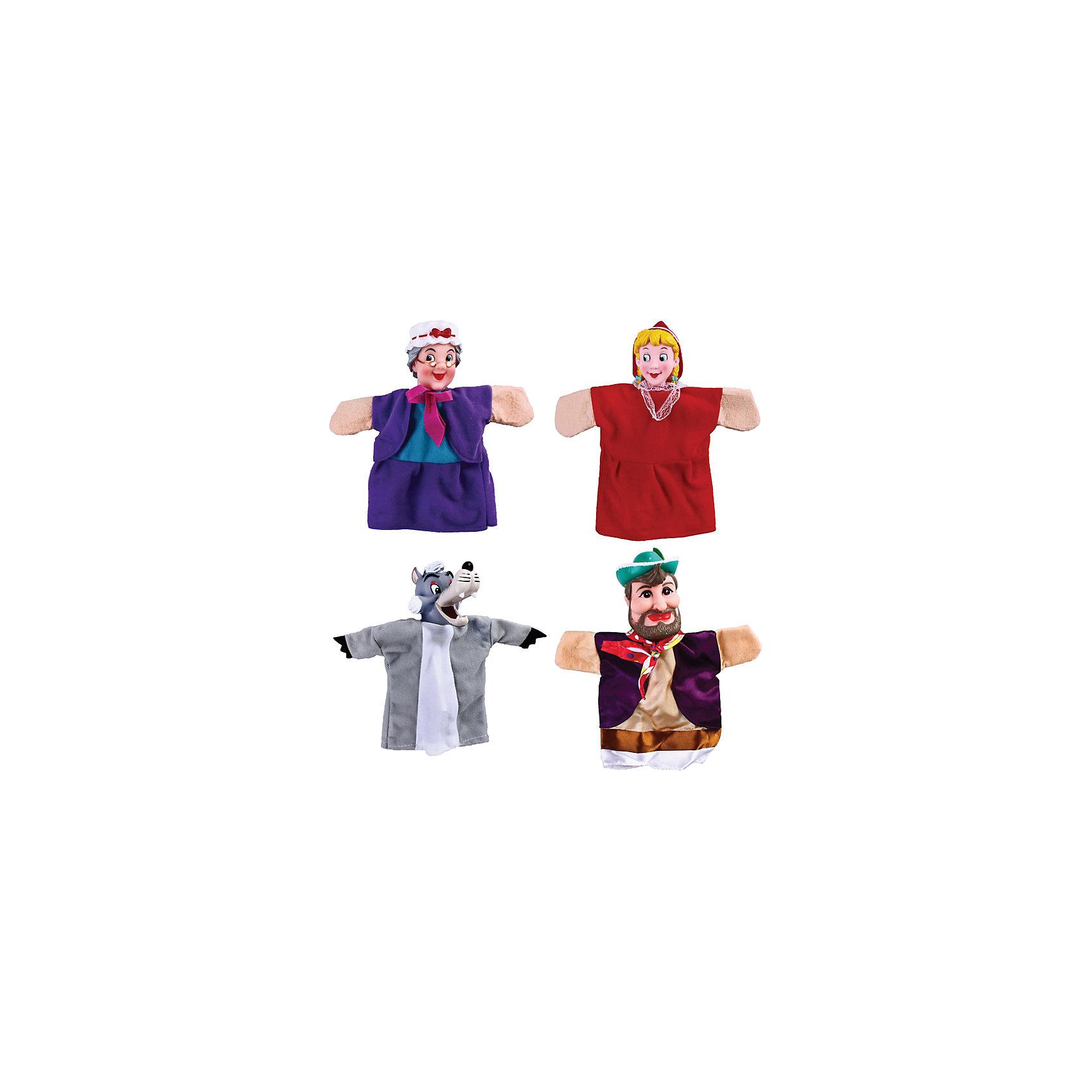 Жирафики Кукольный театр Красная шапочка, 4 куклы, Жирафики раннее развитие айрис пресс волшебный театр красная шапочка