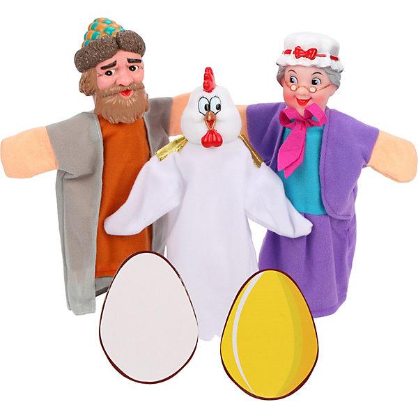Кукольный театр Курочка Ряба, 4 куклы, Жирафики