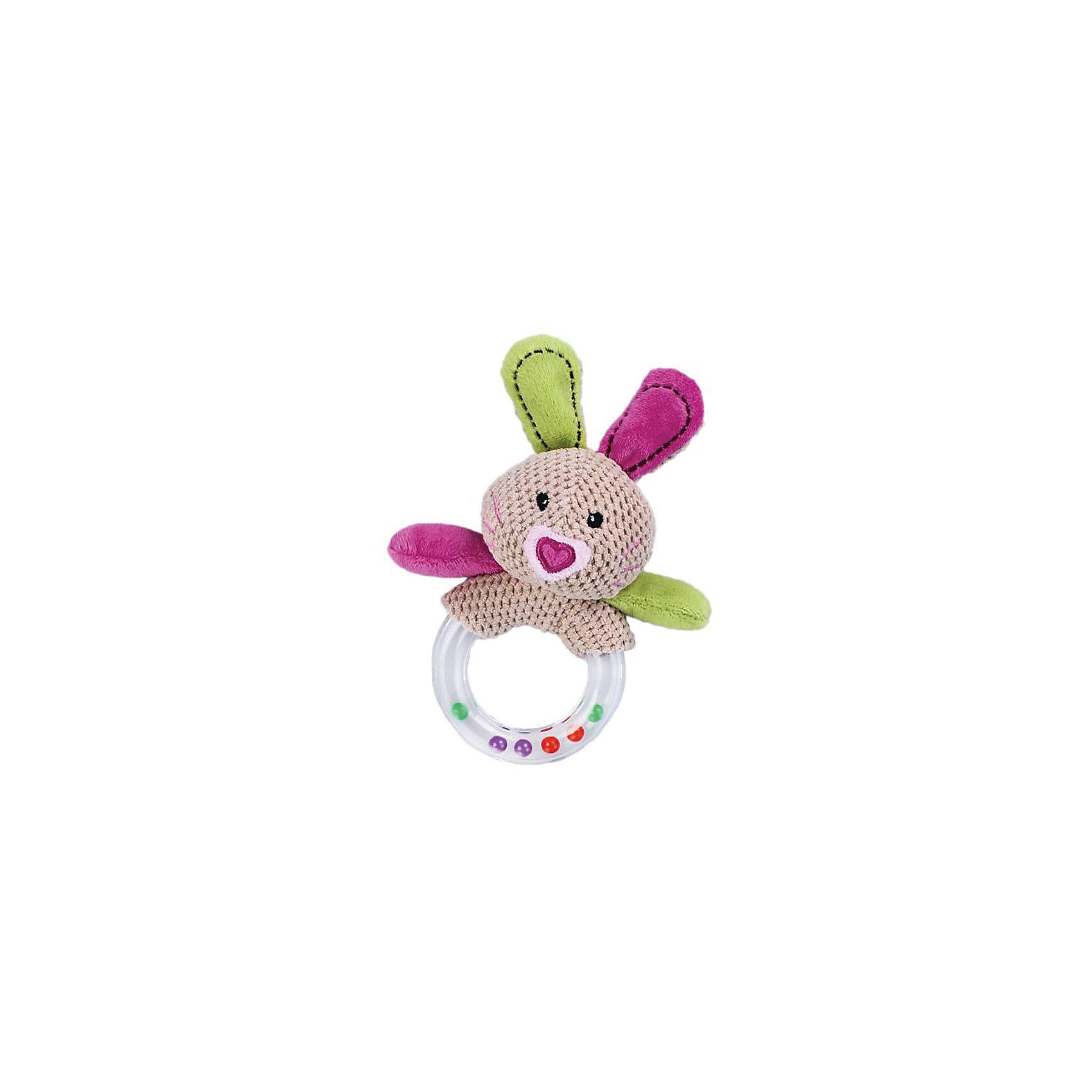 Погремушка Зайка Полли, ЖирафикиПогремушка – классическая игрушка для малышей ясельного возраста. Погремушка издает приятный звук для ребенка, успокаивает его и помогает заснуть. Интересная погремушка из мягкого текстиля в виде милого зайки понравится всем деткам без исключения. Игрушку можно оставлять с малышом и давать ему играть без присмотра взрослых, так как в ней нет опасных элементов и мелких деталей. Материалы, использованные при изготовлении товара, абсолютно безопасны и отвечают всем международным требованиям по качеству.<br><br>Дополнительные характеристики:<br><br>материал: текстиль, пластик;<br>цвет: разноцветный.<br><br>Погремушку Зайка Полли от компании Жирафики можно приобрести в нашем магазине.<br><br>Ширина мм: 560<br>Глубина мм: 320<br>Высота мм: 360<br>Вес г: 65<br>Возраст от месяцев: 36<br>Возраст до месяцев: 60<br>Пол: Унисекс<br>Возраст: Детский<br>SKU: 5032552