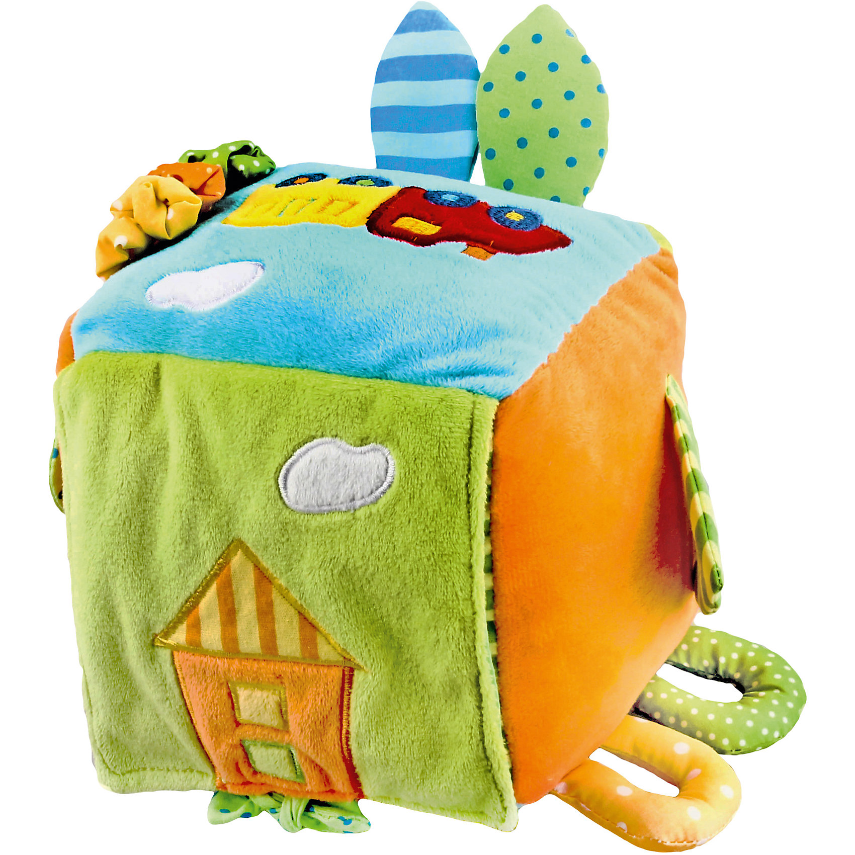 Развивающая игрушка Куб Поезд, ЖирафикиРазвивающие игрушки должны быть у каждого малыша. Такие игрушки будут не только развивать способности малыша во время веселой игры, но и радовать глаз, потому что современные развивающие модели красивые и обладают стильным дизайном. Новая игрушка «Куб Поезд» - мягкая игрушка, которая издает звуки, ели ее потрясти. Есть завязочки, которые развивают тактильные ощущения. Тренирует слух и улучшает мелкую моторику малыша. Материалы, использованные при изготовлении товара, абсолютно безопасны и отвечают всем международным требованиям по качеству.<br><br>Дополнительные характеристики:<br><br>материал: текстиль;<br>цвет: разноцветный;<br>габариты: 20 X 16 X 30 см.<br><br>Развивающую игрушку  Куб Поезд от компании Жирафики можно приобрести в нашем магазине.<br><br>Ширина мм: 620<br>Глубина мм: 720<br>Высота мм: 560<br>Вес г: 264<br>Возраст от месяцев: 3<br>Возраст до месяцев: 36<br>Пол: Унисекс<br>Возраст: Детский<br>SKU: 5032560