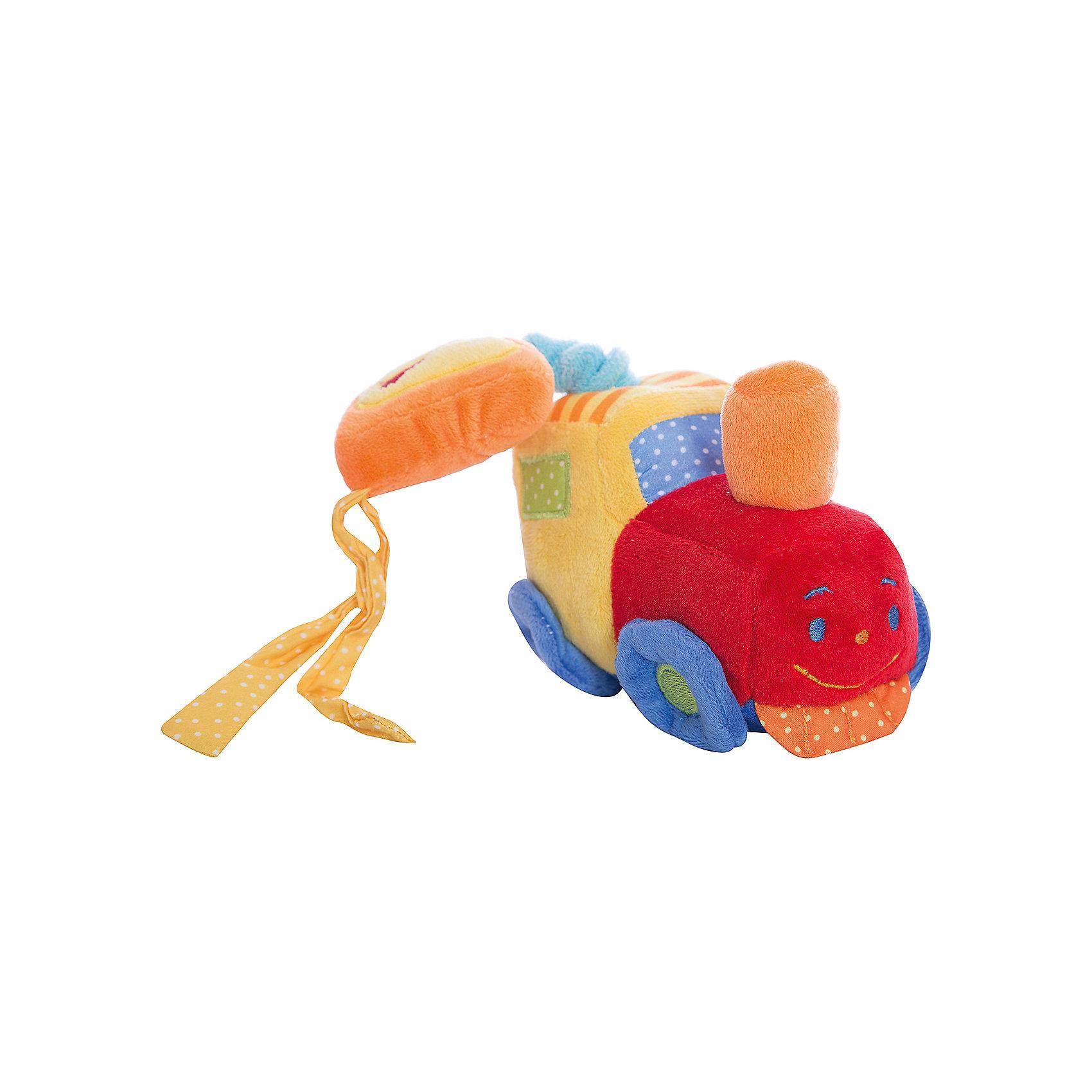 Развивающая игрушка Музыкальная машинка, ЖирафикиРазвивающие игрушки должны быть у каждого малыша. Такие игрушки будут не только развивать способности малыша во время веселой игры, но и радовать глаз, потому что современные развивающие модели красивые и обладают стильным дизайном. Новая игрушка «Музыкальная машинка» - мягкая игрушка, которая издает звуки при ее перемещении вниз. Развивает слух и улучшает мелкую моторику малыша. Материалы, использованные при изготовлении товара, абсолютно безопасны и отвечают всем международным требованиям по качеству.<br><br>Дополнительные характеристики:<br><br>материал: текстиль;<br>цвет: разноцветный;<br>габариты: 16 X 8 X 30 см.<br><br>Развивающую игрушку Музыкальная машинка от компании Жирафики можно приобрести в нашем магазине.<br><br>Ширина мм: 600<br>Глубина мм: 300<br>Высота мм: 320<br>Вес г: 180<br>Возраст от месяцев: 3<br>Возраст до месяцев: 36<br>Пол: Унисекс<br>Возраст: Детский<br>SKU: 5032563