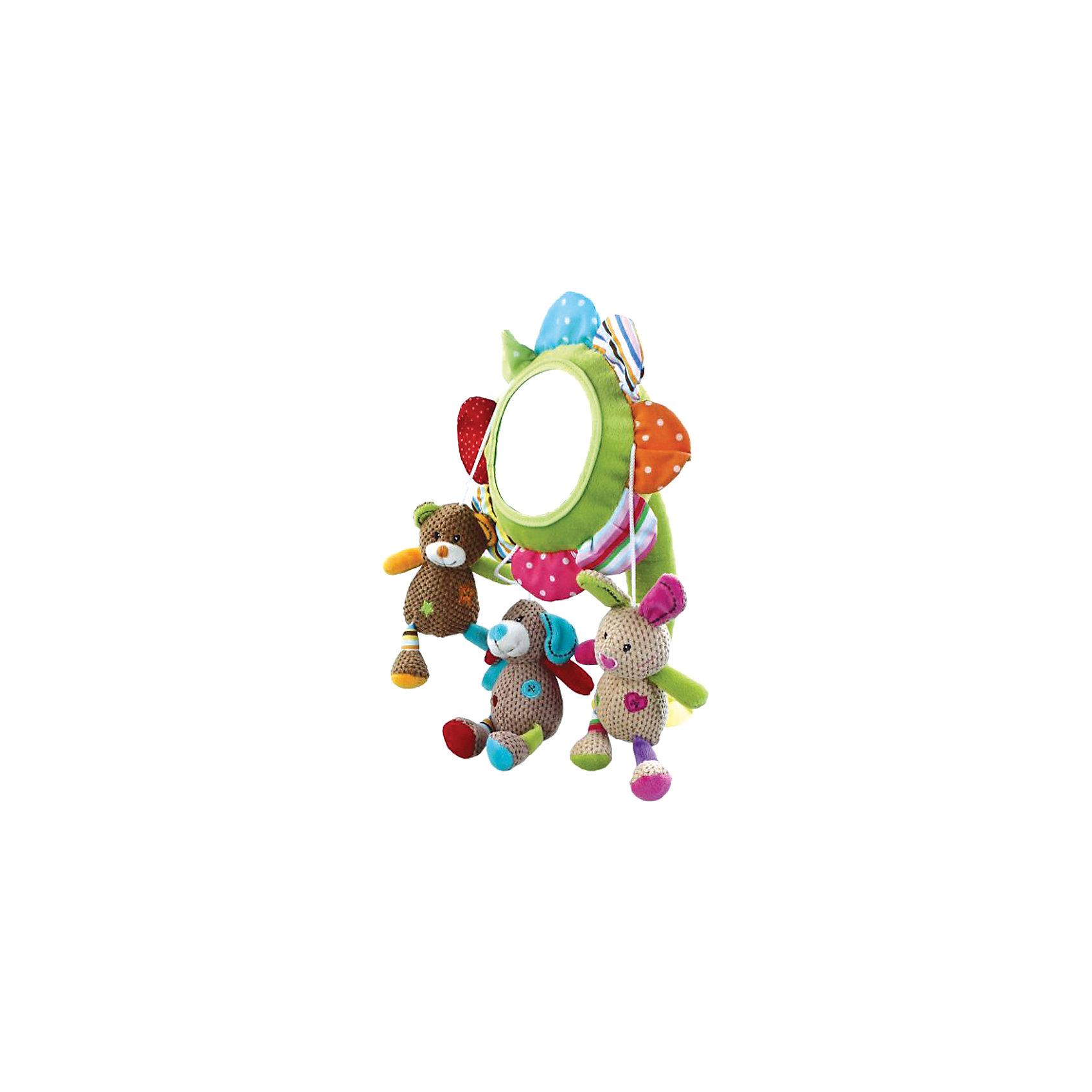 Подвеска Веселые малыши, ЖирафикиПодвеска в форме цветка – прекрасное решение украсить спальню малыша. Цветок – развивающая игрушка, которая понравится всем малышам, так как она невероятно функциональна. Всевозможные ткани и фактуры, зеркальце и разные цвета привлекут внимание даже самых непоседливых малышей. Игрушка развивает мелкую моторику и тактильные ощущения. Игрушка крепится с помощью присоски. Материалы, использованные при изготовлении товара, абсолютно безопасны и отвечают всем международным требованиям по качеству.<br><br>Дополнительные характеристики:<br><br>материал: текстиль, пластик;<br>цвет: разноцветный;<br>габариты: 16 X 16 X 35 см.<br><br>Подвеску Веселые малыши от компании Жирафики можно приобрести в нашем магазине.<br><br>Ширина мм: 540<br>Глубина мм: 330<br>Высота мм: 410<br>Вес г: 344<br>Возраст от месяцев: 3<br>Возраст до месяцев: 36<br>Пол: Унисекс<br>Возраст: Детский<br>SKU: 5032568