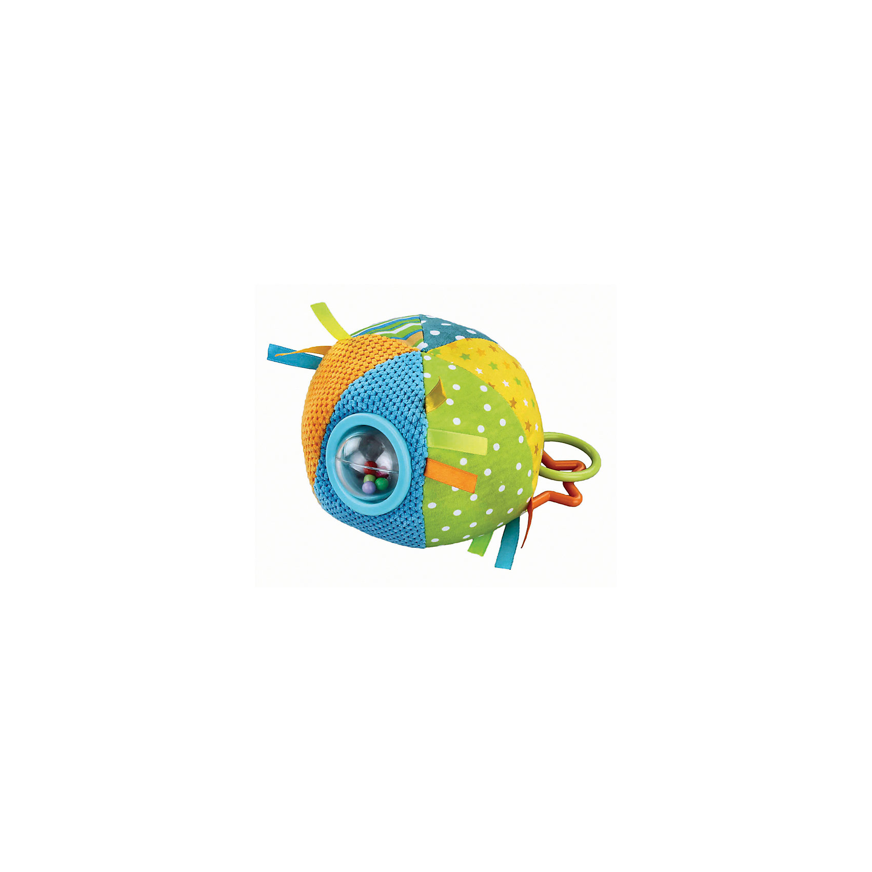 Развивающая игрушка Цветной мячик, в ассорименте, Жирафики<br><br>Ширина мм: 500<br>Глубина мм: 330<br>Высота мм: 300<br>Вес г: 216<br>Возраст от месяцев: 3<br>Возраст до месяцев: 36<br>Пол: Унисекс<br>Возраст: Детский<br>SKU: 5032570