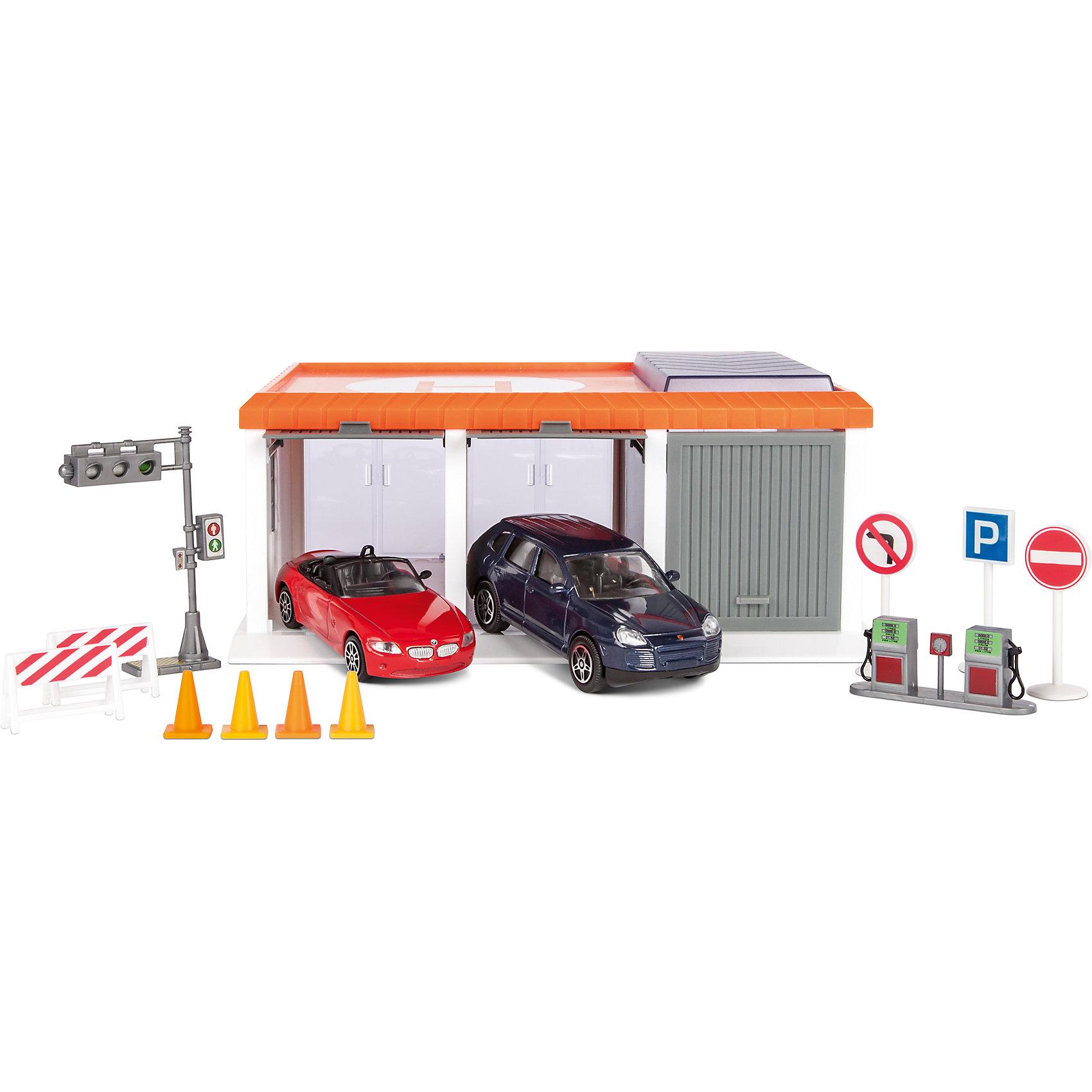Гараж Мегаполис, Пламенный моторПарковки и гаражи<br>Гараж – желанная игрушка всех малышей. Машинок много у всех мальчиков, а гараж есть у единиц. Осуществите мечту маленького автомеханика и подарите ему гараж! В комплект входит гаражный блок, две машины и аксессуары к ним. Гараж даст возможность построить полноценный город! Компания выпускает множество игрушек, которые понравятся малышам, интересующимися машинами и другими автотранспортными средствами. Материалы, использованные при изготовлении товара, абсолютно безопасны и отвечают всем международным требованиям по качеству.<br><br>Дополнительные характеристики:<br><br>материал: пластик, металл;<br>габариты: 23 X 22 X 16 см.<br><br>Гараж Мегаполис от компании Пламенный мотор можно приобрести в нашем магазине.<br><br>Ширина мм: 487<br>Глубина мм: 400<br>Высота мм: 468<br>Вес г: 773<br>Возраст от месяцев: 36<br>Возраст до месяцев: 120<br>Пол: Мужской<br>Возраст: Детский<br>SKU: 5032584