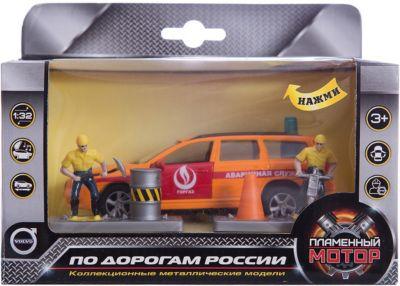 Машина Volvo Аварийная служба. Горгаз , 1:32, со светом и звуком, Пламенный мотор