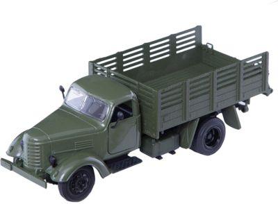 Военный грузовик, 1:36, со светом и звуком, Пламенный мотор
