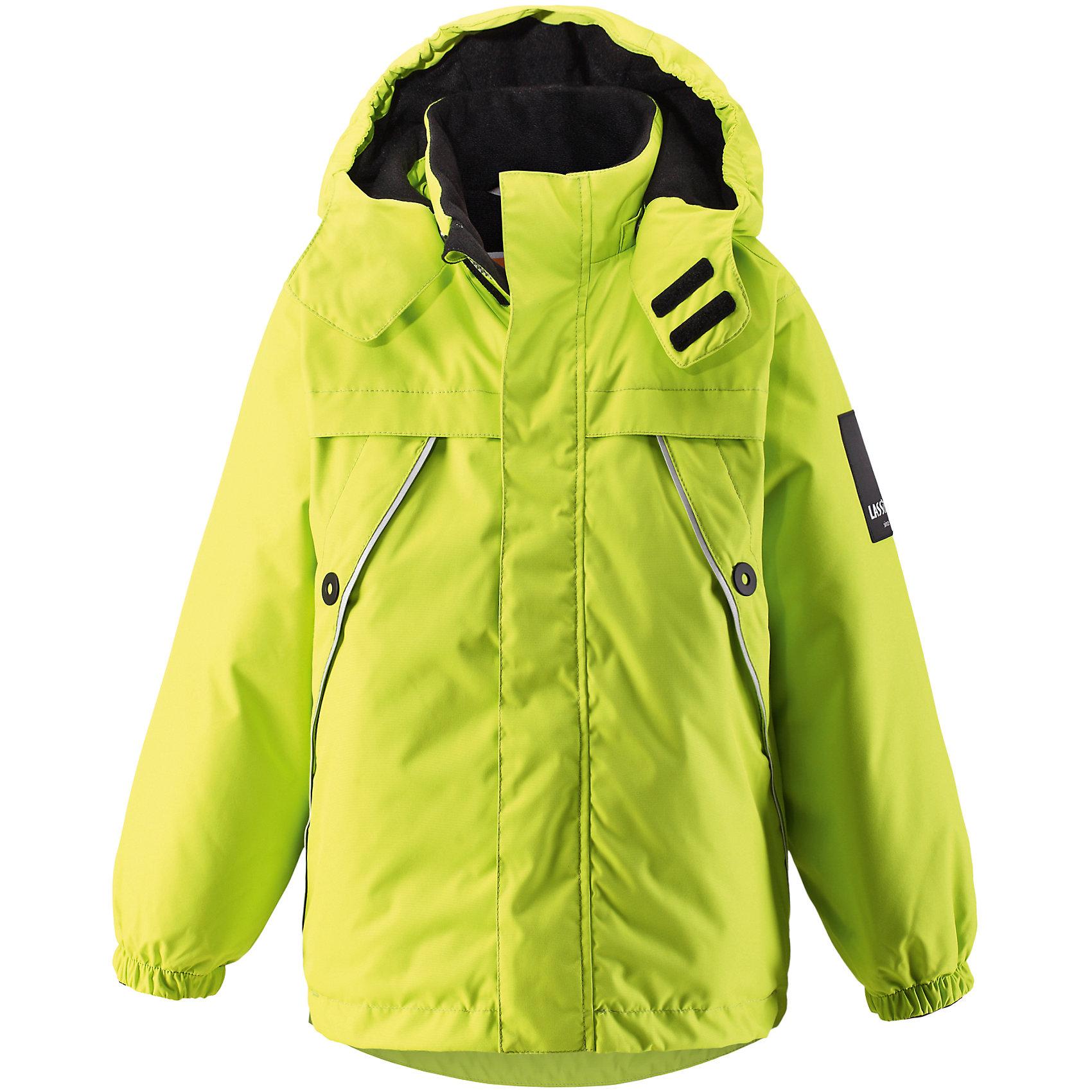 Куртка LASSIE by ReimaКуртка от финской марки LASSIE by Reima.<br>Зимняя куртка для детей Lassietec®.Водо- и ветронепроницаемый, «дышащий» и грязеотталкивающий материал.Внешние швы проклеены.Гладкая подкладка из полиэстра.Средняя степень утепления.Безопасный, съемный капюшон.Эластичные манжеты.Регулируемый подол.Передние карманы<br>Рекомендации по уходу:Стирать по отдельности, вывернув наизнанку. Застегнуть молнии и липучки. Соблюдать температуру в соответствии с руководством по уходу. Стирать моющим средством, не содержащим отбеливающие вещества. Полоскать без специального средства. Сушение в сушильном шкафу разрешено при низкой температуре.<br>Вес утеплителя:140<br>Состав:<br>100% ПЭ, ПУ-покрытие<br><br>Ширина мм: 356<br>Глубина мм: 10<br>Высота мм: 245<br>Вес г: 519<br>Цвет: желтый<br>Возраст от месяцев: 18<br>Возраст до месяцев: 24<br>Пол: Унисекс<br>Возраст: Детский<br>Размер: 92,140,134,128,122,116,110,104,98<br>SKU: 5032712