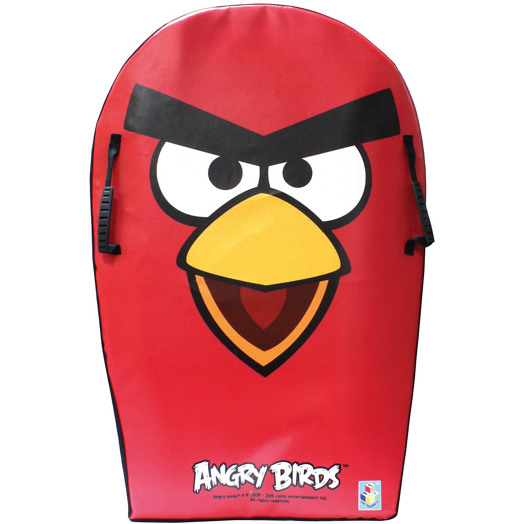 - Ледянка, 74см, с плотными ручками, Angry Birds,  1toy ледянка 1toy angry birds для двоих 122см т56332