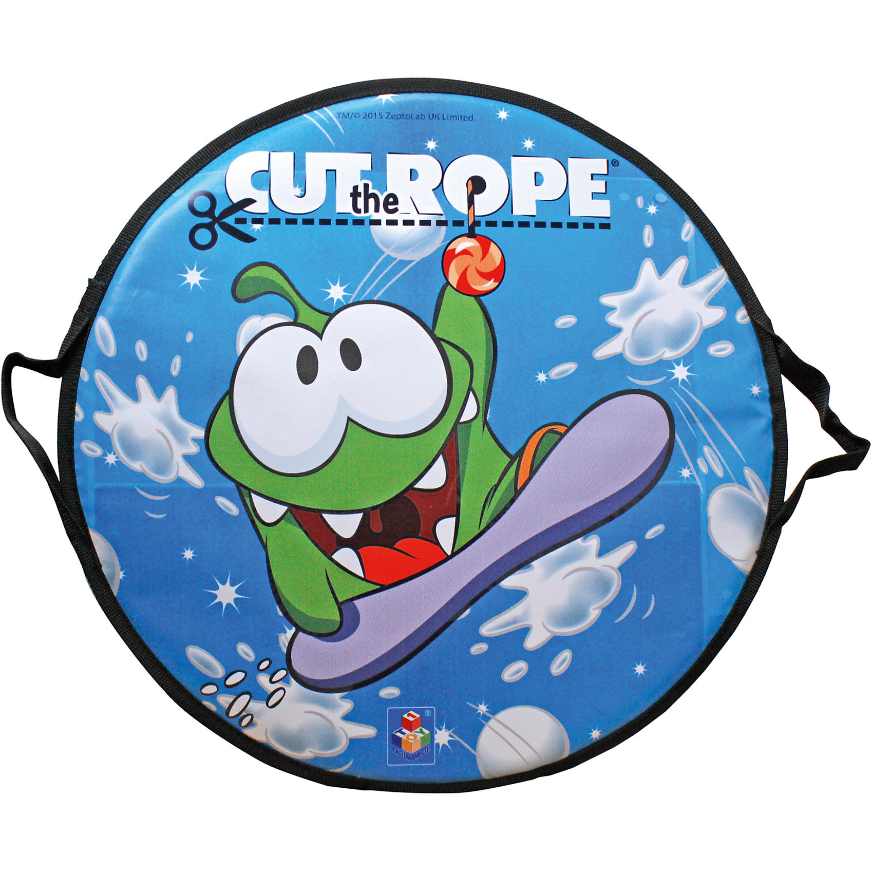Ледянка, 52 см, круглая,  Cut the Rope,  1toy, 1toy