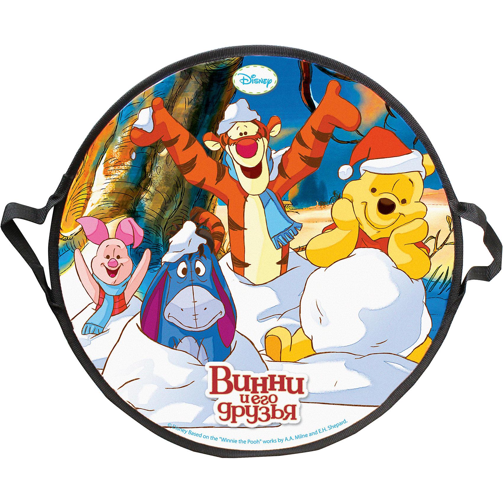 Ледянка Винни-Пух, 52 см, круглая, DisneyЛедянка Винни-Пух, 52 см, круглая, Disney.<br><br>Характеристики:<br><br>• изготовлена из прочных материалов<br>• имеет удобные ручки<br>• яркий дизайн<br>• материал: ПВХ, вспененный полиэтилен<br>• размер: 52х52х3 см<br>• вес: 275 грамм<br><br>Ледянка Винни-Пух, Disney отлично подойдет для спуска с горки. Она изготовлена из прочных материалов, имеет удобные ручки для безопасности и удобства. Яркий дизайн с любимыми героями мультфильма Винни-Пух никого не оставит равнодушным!<br><br>Ледянку Винни-Пух, 52 см, круглая, Disney можно купить в нашем интернет-магазине.<br><br>Ширина мм: 520<br>Глубина мм: 10<br>Высота мм: 520<br>Вес г: 300<br>Возраст от месяцев: 36<br>Возраст до месяцев: 192<br>Пол: Унисекс<br>Возраст: Детский<br>SKU: 5032794