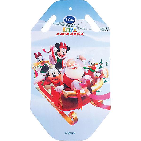 Ледянка, 92см., DisneyЛедянки<br>Ледянка, 92см., Disney.<br><br>Характеристики:<br><br>• прочные материалы<br>• удобные прорези <br>• яркий дизайн<br>• материал: пластик<br>• размер: 92х50х0,5 см<br>• вес: 300 грамм<br><br>Ледянка, Disney предназначена для спуска со снежных горок в зимнее время. Она изготовлена из качественных материалов, отлично скользит и имеет прорези, за которые ребенок сможет держаться. Яркий дизайн с персонажами клуба Микки-Мауса станет приятным дополнением к веселому времяпровождению.<br><br>Ледянку, 92см., Disney вы можете приобрести в нашем интернет-магазине.<br>Ширина мм: 910; Глубина мм: 5; Высота мм: 510; Вес г: 398; Возраст от месяцев: 36; Возраст до месяцев: 192; Пол: Унисекс; Возраст: Детский; SKU: 5032803;
