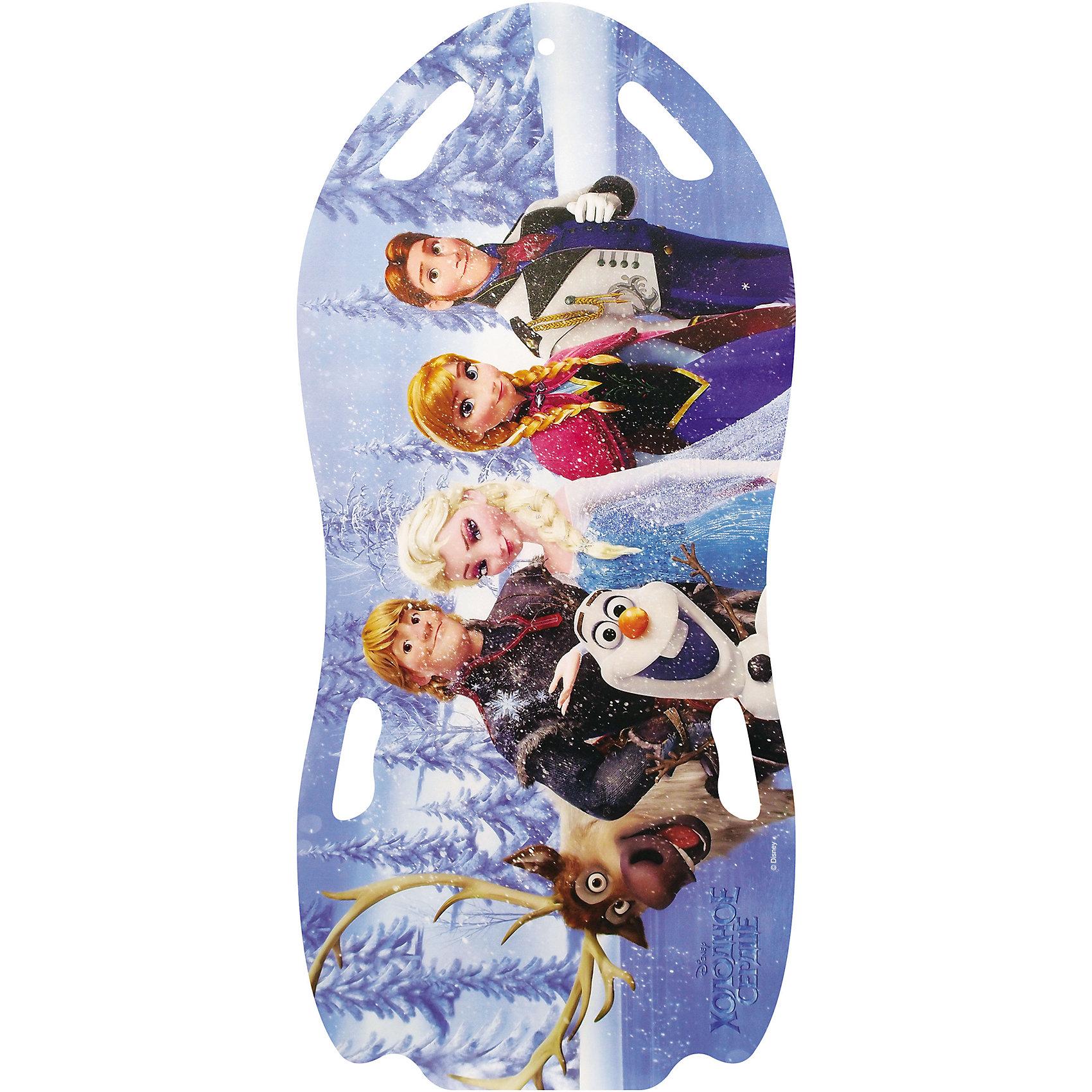 Disney Ледянка Холодное сердцедля двоих, 122см, унив., Disney заготовки под роспись disney набор для раскрашивания рюкзака холодное сердце
