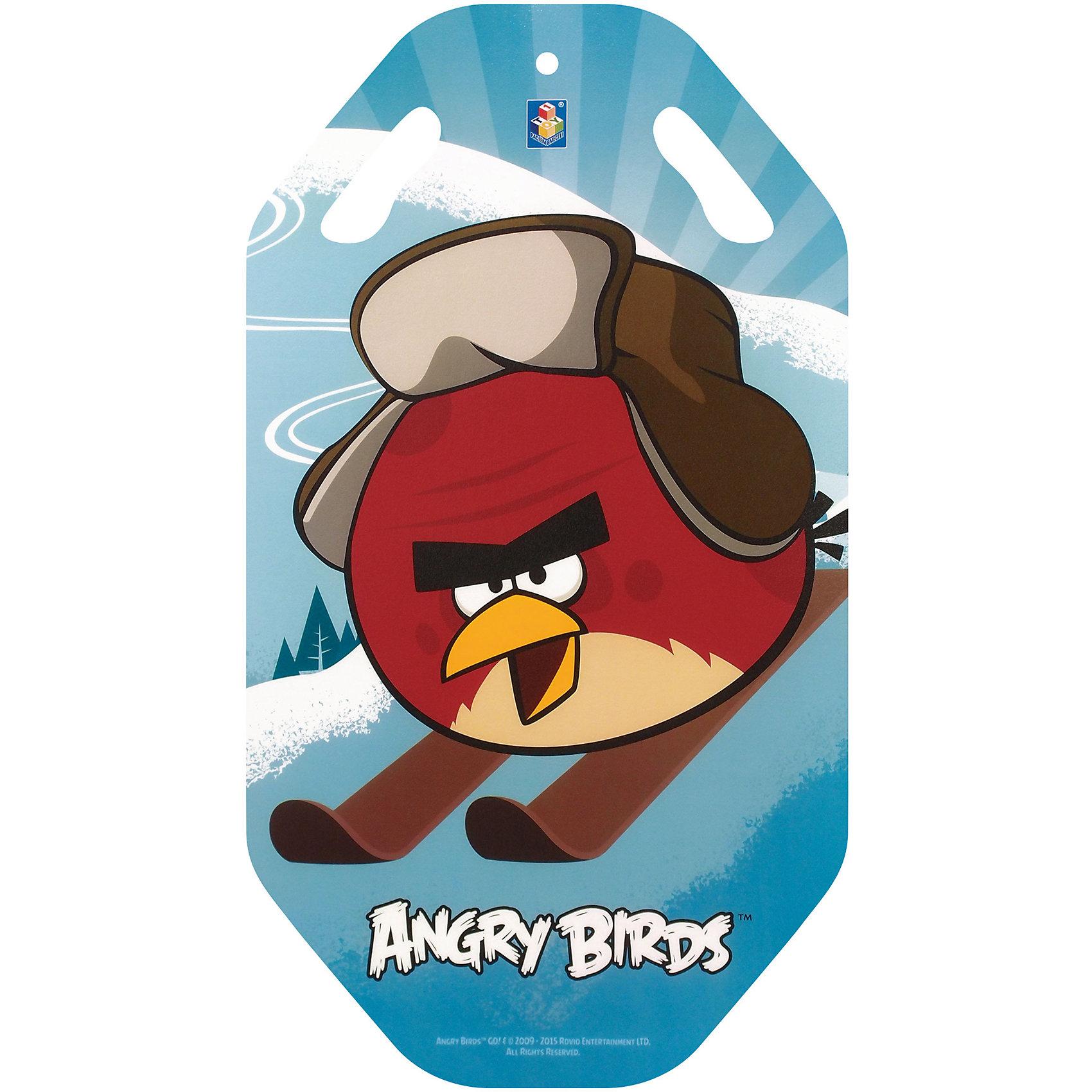 - Ледянка , 92см, Angry Birds, 92см,  1toy ледянка 1toy angry birds для двоих 122см т56332