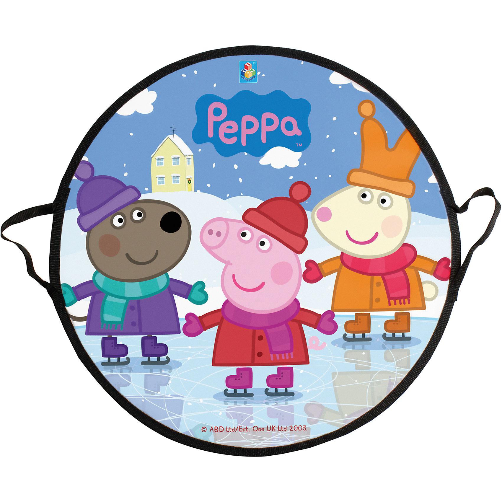 - Ледянка Пеппа, 52 см, круглая, Peppa, 1toy цена