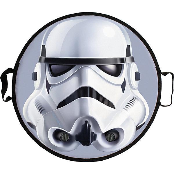Ледянка Storm Trooper, 52 см, круглая, Звездные войныЛедянки<br>Ледянка Storm Trooper, 52 см, круглая, Звездные войны.<br><br>Характеристики:<br><br>• изготовлена из прочного пластика<br>• выдерживает нагрузки до 70 кг<br>• две удобные ручки<br>• яркий дизайн<br>• материал: пвх, текстиль<br>• размер упаковки: 52х52х2 см<br><br><br>Ледянка Storm Trooper с плотными ручками, Звездные войны понравится любителям фильма Звездные войны. Она выполнена в форме шлема штурмовика. Ледянка изготовлена из качественного пластика и оснащена плотными ручками, за которые будет удобно держаться. Выдерживает вес до 70 кг. Кататься с такой необычной ледянкой будет весело и увлекательно!<br><br>Ледянку Storm Trooper, 52 см, круглая, Звездные войны вы можете купить в нашем интернет-магазине.<br><br>Ширина мм: 500<br>Глубина мм: 10<br>Высота мм: 500<br>Вес г: 300<br>Возраст от месяцев: 36<br>Возраст до месяцев: 192<br>Пол: Мужской<br>Возраст: Детский<br>SKU: 5032824