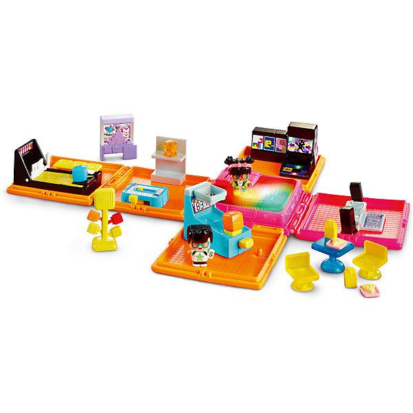 Зал игровых автоматов, My Mini MixieQ'sИгровые наборы с фигурками<br>Зал игровых автоматов, My Mini MixieQ's (Май Мини МиксиКьюс) станет отличным подарком как для любителей серии, так для тех, кто еще не знаком  с этими милыми маленькими фигурками. Все фигурки и части складываются в кубик, а для игры кубик раскладывается и превращается в полноценную неоновую аркаду! Разные залы позволят маленькому девочке и мальчику играть в аэрохоккей, танцевальную революцию, пакмена, боулинг, баскетбол или перекусить за маленьким столиком. Танцпол посередине светится и при нажатии будет играть мелодию диджея, звуки боулинга, аэрохоккея или игровых автоматов. Также в комплект входит таинственная фигурка. У всех фигурок снимается и меняется одежда и прическа. Этот набор отлично сочетается с любыми другими наборами My Mini MixieQ's (Май мини миксикьюс). Превосходное качество и отличная детализация набора поможет придумать множество игр и развить воображение.<br>Дополнительная информация:<br>- В набор входит: складной кубик, 3 подвижных детали, набор аксессуаров, 3 фигурки<br>- Материал: пластик <br>- Размер коробки: 22 * 33 * 29 см.<br>- Элементы питания: в комплекте <br><br>Зал игровых автоматов, My Mini MixieQ's (Май Мини МиксиКьюс), можно купить в нашем магазине.<br><br>Ширина мм: 50<br>Глубина мм: 305<br>Высота мм: 305<br>Вес г: 393<br>Возраст от месяцев: 48<br>Возраст до месяцев: 120<br>Пол: Женский<br>Возраст: Детский<br>SKU: 5032902