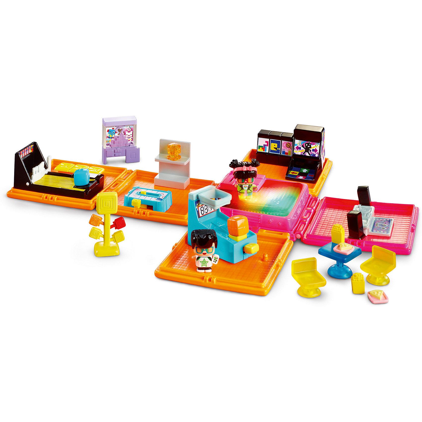 Зал игровых автоматов, My Mini MixieQ'sИгровые наборы фигурок<br>Зал игровых автоматов, My Mini MixieQ's (Май Мини МиксиКьюс) станет отличным подарком как для любителей серии, так для тех, кто еще не знаком  с этими милыми маленькими фигурками. Все фигурки и части складываются в кубик, а для игры кубик раскладывается и превращается в полноценную неоновую аркаду! Разные залы позволят маленькому девочке и мальчику играть в аэрохоккей, танцевальную революцию, пакмена, боулинг, баскетбол или перекусить за маленьким столиком. Танцпол посередине светится и при нажатии будет играть мелодию диджея, звуки боулинга, аэрохоккея или игровых автоматов. Также в комплект входит таинственная фигурка. У всех фигурок снимается и меняется одежда и прическа. Этот набор отлично сочетается с любыми другими наборами My Mini MixieQ's (Май мини миксикьюс). Превосходное качество и отличная детализация набора поможет придумать множество игр и развить воображение.<br>Дополнительная информация:<br>- В набор входит: складной кубик, 3 подвижных детали, набор аксессуаров, 3 фигурки<br>- Материал: пластик <br>- Размер коробки: 22 * 33 * 29 см.<br>- Элементы питания: в комплекте <br><br>Зал игровых автоматов, My Mini MixieQ's (Май Мини МиксиКьюс), можно купить в нашем магазине.<br><br>Ширина мм: 50<br>Глубина мм: 305<br>Высота мм: 305<br>Вес г: 393<br>Возраст от месяцев: 48<br>Возраст до месяцев: 120<br>Пол: Женский<br>Возраст: Детский<br>SKU: 5032902