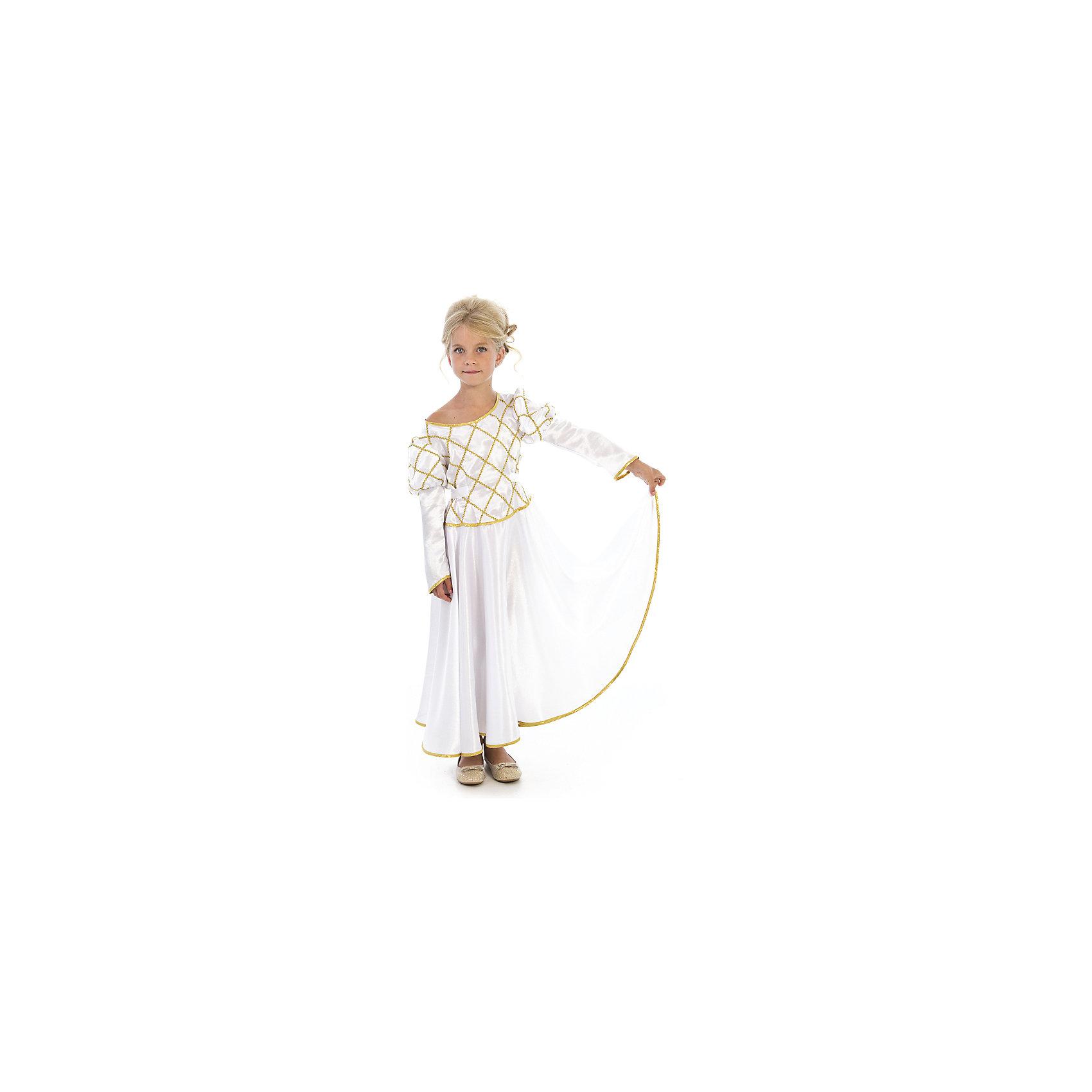 Вестифика Карнавальный костюм Принцесса (белая), Вестифика вестифика карнавальный костюм цыпленок вестифика