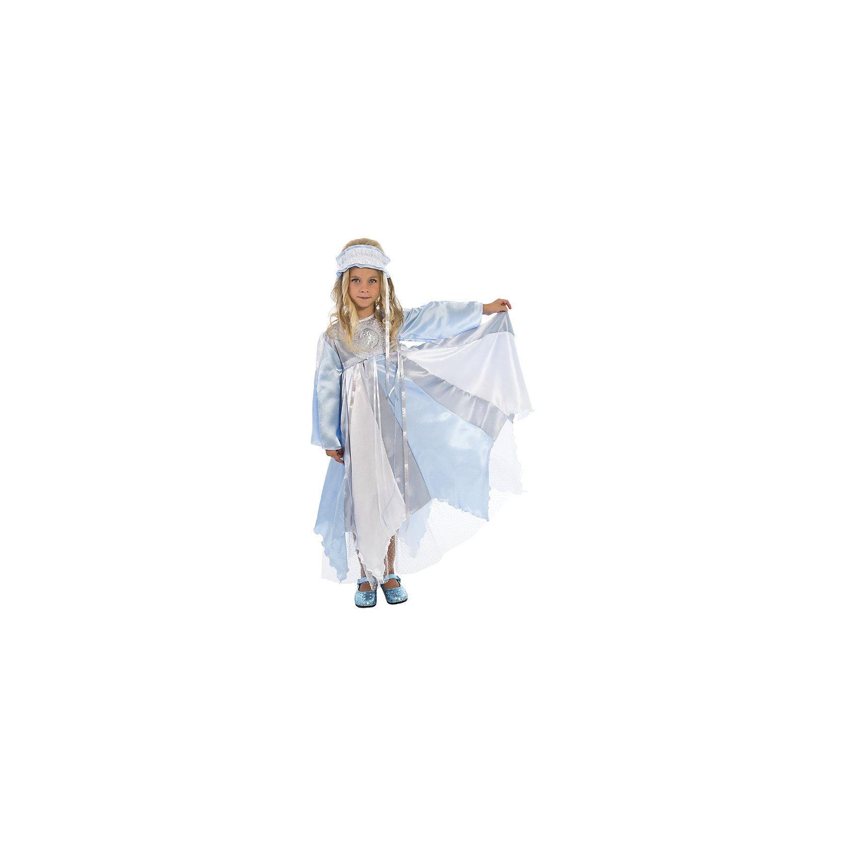Карнавальный костюм Зима, ВестификаДля девочек<br>Карнавальный костюм Зима, Вестифика. В комплект входит: Платье, повязка на голову.<br><br>Ширина мм: 450<br>Глубина мм: 80<br>Высота мм: 350<br>Вес г: 250<br>Цвет: разноцветный<br>Возраст от месяцев: 96<br>Возраст до месяцев: 108<br>Пол: Женский<br>Возраст: Детский<br>Размер: 128/134,116/122<br>SKU: 5033383