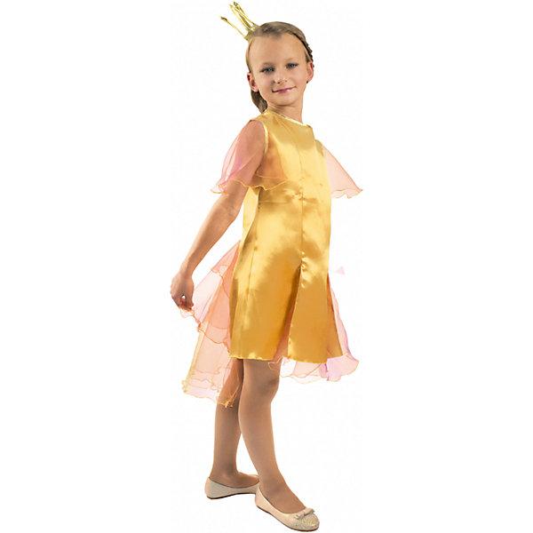 Карнавальный костюм Золотая рыбка, ВестификаКарнавальные костюмы для девочек<br>Карнавальный костюм Золотая рыбка, Вестифика. В комплект входит: Платье, корона.<br>Ширина мм: 450; Глубина мм: 80; Высота мм: 350; Вес г: 150; Возраст от месяцев: 72; Возраст до месяцев: 84; Пол: Женский; Возраст: Детский; Размер: 116/122,104/110; SKU: 5033386;