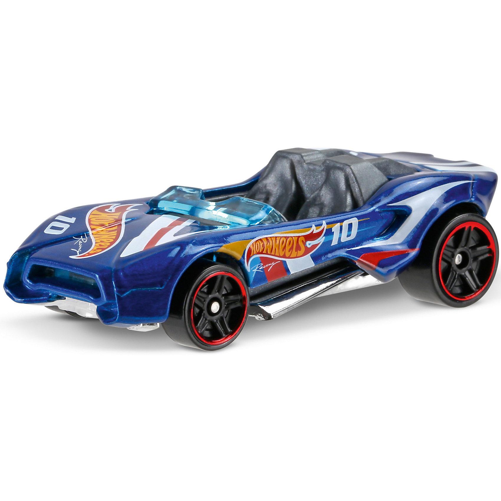 Машинка Hot Wheels из базовой коллекцииМашинка Hot Wheels из базовой коллекции – высококачественная масштабная модель машины, имеющая неординарный, радикальный дизайн. <br><br>В упаковке 1 машинка,  машинки тематически обусловлены от фантазийных, спасательных до экстремальных и просто скоростных машин. <br><br>Соберите свою коллекцию машинок Hot Wheels!<br><br>Дополнительная информация: <br><br>Машинка стандартного размера Hot Wheels<br>Размер упаковки: 11 х 10,5 х 3,5 см<br><br>Ширина мм: 110<br>Глубина мм: 45<br>Высота мм: 110<br>Вес г: 30<br>Возраст от месяцев: 36<br>Возраст до месяцев: 96<br>Пол: Мужской<br>Возраст: Детский<br>SKU: 5033399