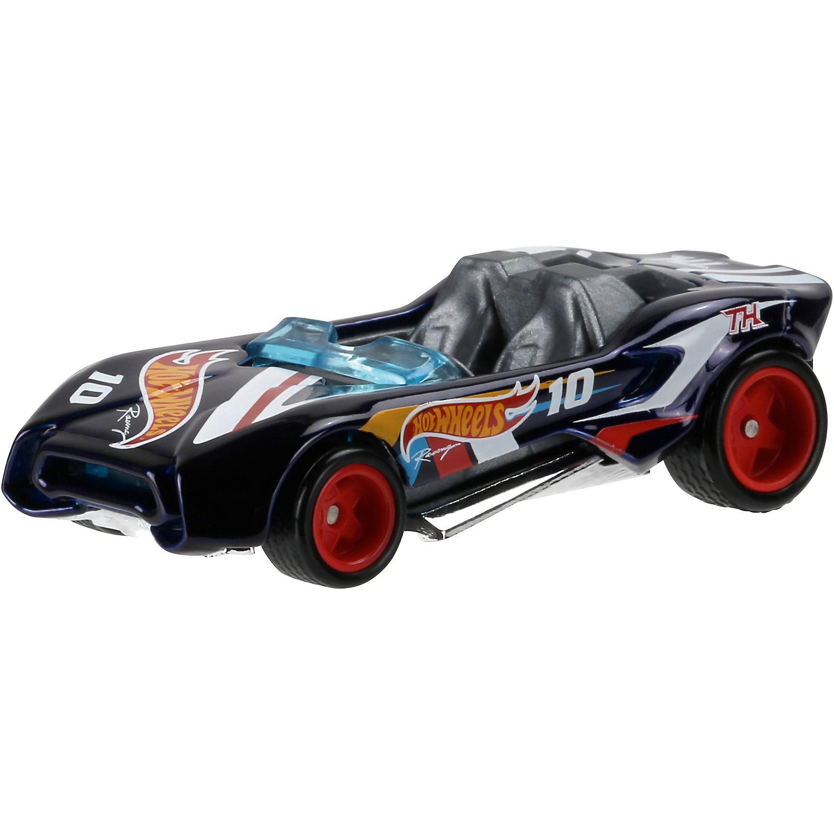 Машинка Hot Wheels из базовой коллекцииМашинка Hot Wheels из базовой коллекции – высококачественная масштабная модель машины, имеющая неординарный, радикальный дизайн. <br><br>В упаковке 1 машинка,  машинки тематически обусловлены от фантазийных, спасательных до экстремальных и просто скоростных машин. <br><br>Соберите свою коллекцию машинок Hot Wheels!<br><br>Дополнительная информация: <br><br>Машинка стандартного размера Hot Wheels<br>Размер упаковки: 11 х 10,5 х 3,5 см<br><br>Ширина мм: 110<br>Глубина мм: 45<br>Высота мм: 110<br>Вес г: 30<br>Возраст от месяцев: 36<br>Возраст до месяцев: 96<br>Пол: Мужской<br>Возраст: Детский<br>SKU: 5033406