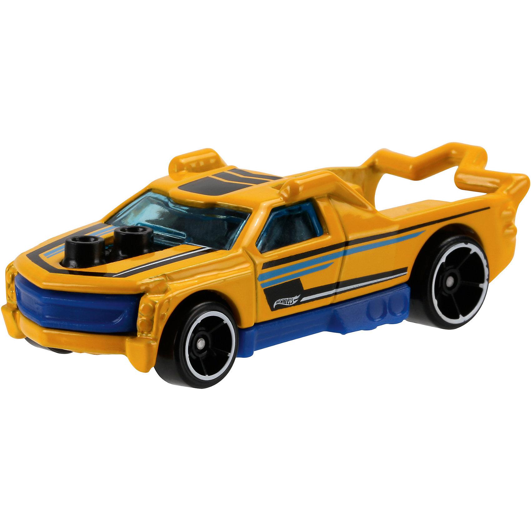 Машинка Hot Wheels из базовой коллекцииМашинка Hot Wheels из базовой коллекции – высококачественная масштабная модель машины, имеющая неординарный, радикальный дизайн. <br><br>В упаковке 1 машинка,  машинки тематически обусловлены от фантазийных, спасательных до экстремальных и просто скоростных машин. <br><br>Соберите свою коллекцию машинок Hot Wheels!<br><br>Дополнительная информация: <br><br>Машинка стандартного размера Hot Wheels<br>Размер упаковки: 11 х 10,5 х 3,5 см<br><br>Ширина мм: 110<br>Глубина мм: 45<br>Высота мм: 110<br>Вес г: 30<br>Возраст от месяцев: 36<br>Возраст до месяцев: 96<br>Пол: Мужской<br>Возраст: Детский<br>SKU: 5033410