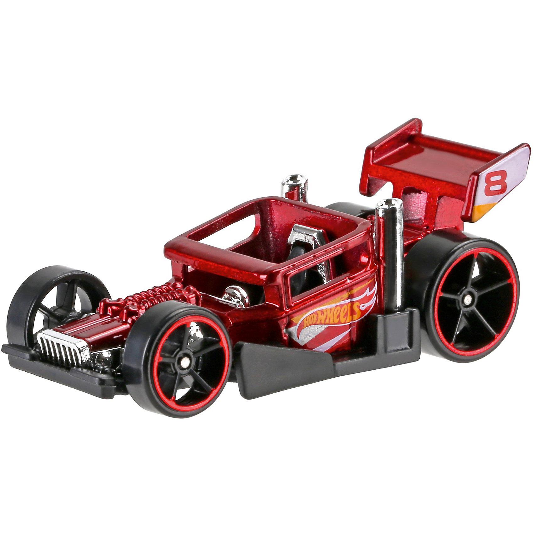 Машинка Hot Wheels из базовой коллекцииМашинки<br>Машинка Hot Wheels из базовой коллекции – высококачественная масштабная модель машины, имеющая неординарный, радикальный дизайн. <br><br>В упаковке 1 машинка,  машинки тематически обусловлены от фантазийных, спасательных до экстремальных и просто скоростных машин. <br><br>Соберите свою коллекцию машинок Hot Wheels!<br><br>Дополнительная информация: <br><br>Машинка стандартного размера Hot Wheels<br>Размер упаковки: 11 х 10,5 х 3,5 см<br><br>Ширина мм: 110<br>Глубина мм: 45<br>Высота мм: 110<br>Вес г: 30<br>Возраст от месяцев: 36<br>Возраст до месяцев: 96<br>Пол: Мужской<br>Возраст: Детский<br>SKU: 5033423