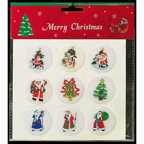 Набор наклеек «РОЖДЕСТВЕНСКИЕ ВЕЧЕРА»  4смДетская упаковочная бумага<br>Характеристики товара:<br><br>- материал: полимер;<br>- размер: 4 см;<br>- назначение: украшение.<br><br>Каждый праздник имеет свои традиции, без которых он будет неполным. Украшение дома к Новому году - это уже часть праздника! Особую атмосферу поможет создать такое украшение - наклейки отлично смотрятся в любом интерьере, на окнах или на упаакованном подарке благодаря универсальной расцветке.<br>Украшение сделано из материалов, безопасных для детей. Оно также станет отличным сувениром для коллег, знакомых или родных.<br><br>Набор наклеек «РОЖДЕСТВЕНСКИЕ ВЕЧЕРА» можно купить в нашем интернет-магазине.<br><br>Ширина мм: 40<br>Глубина мм: 40<br>Высота мм: 3<br>Вес г: 31<br>Возраст от месяцев: 48<br>Возраст до месяцев: 144<br>Пол: Унисекс<br>Возраст: Детский<br>SKU: 5033625