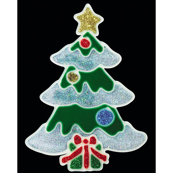 Наклейка на окно «СВЕТЯЩАЯСЯ ЁЛОЧКА» 12х17смНовогодние наклейки на окна<br>Характеристики товара:<br><br>- материал: полимер;<br>- размер: 12х17 см;<br>- назначение: украшение.<br><br>Каждый праздник имеет свои традиции, без которых он будет неполным. Украшение дома к Новому году - это уже часть праздника! Особую атмосферу поможет создать такое украшение - оно отлично смотрится в любом интерьере или на окне благодаря универсальной расцветке.<br>Украшение сделано из материалов, безопасных для детей. Оно также станет отличным сувениром для коллег, знакомых или родных.<br><br>Украшение «СВЕТЯЩАЯСЯ ЁЛОЧКА» можно купить в нашем интернет-магазине.<br><br>Ширина мм: 120<br>Глубина мм: 5<br>Высота мм: 170<br>Вес г: 21<br>Возраст от месяцев: 48<br>Возраст до месяцев: 144<br>Пол: Унисекс<br>Возраст: Детский<br>SKU: 5033632