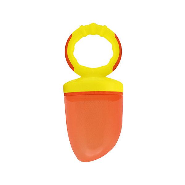 Изделие для прикорма Жуйка от 6 мес., LUBBY, оранжевый/желтыйНиблеры<br>Изделие для прикорма Жуйка от 6 мес., LUBBY, оранжевый/жёлтый.<br><br>Характеристики:<br><br>- Комплектация: кольцо, ручка, колпачок, сменная сетка, заглушка<br>- Цвет: оранжевый, жёлтый<br>- Материал: изделие – полипропилен, резина; сетка – полиэстер<br>- Размер упаковки: 115х60х190 мм.<br>- Вес: 54 гр.<br>- Срок службы: изделия для прикорма – 1 год, сменной сетки для прикорма – 45 дней<br>- Сменные сетки к изделию для прикорма «ЖуйКА» продаются отдельно<br>- Не оставляйте ребенка во время кормления без присмотра<br>- Не рекомендуется использовать изделие для прикорма в качестве соски-пустышки или игрушки<br><br>Изделие для прикорма «Жуй'КА» – незаменимый помощник при вводе прикорма малышам. С его помощью ваш малыш учится, есть самостоятельно, исключая возможность подавиться кусочками пищи. Изделие для прикорма идеально подходит для ягод, фруктов, овощей и печенья.<br><br>Изделие для прикорма Жуйка от 6 мес., LUBBY, оранжевое/жёлтое можно купить в нашем интернет-магазине.<br><br>Ширина мм: 115<br>Глубина мм: 60<br>Высота мм: 190<br>Вес г: 350<br>Возраст от месяцев: 6<br>Возраст до месяцев: 18<br>Пол: Унисекс<br>Возраст: Детский<br>SKU: 5039262