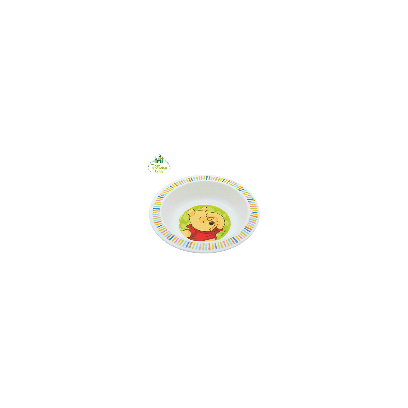 Тарелка Медвежонок Винни DISNEY от 6 мес., LUBBY, белыйТарелка Медвежонок Винни DISNEY от 6 мес., LUBBY, белый.<br><br>Характеристики:<br><br>- Размер: 17,5х3 см.<br>- Цвет: белый<br>- Материал: полипропилен<br>- Размер упаковки: 45х210х177 мм.<br>- Срок службы: 1 год<br><br>Тарелка Медвежонок Винни выполнена из высококачественного пищевого полипропилена - нетоксичного и безопасного для здоровья малыша материала. Глубина тарелки позволяет кушать из нее супы, кашки и различные жидкие по консистенции блюда. Нарисованный на дне тарелки забавный Винни Пух побуждает малыша доесть до конца и превращает прием пищи в игру.<br><br>Тарелку Медвежонок Винни DISNEY от 6 мес., LUBBY, белую можно купить в нашем интернет-магазине.<br><br>Ширина мм: 45<br>Глубина мм: 210<br>Высота мм: 177<br>Вес г: 350<br>Возраст от месяцев: 6<br>Возраст до месяцев: 36<br>Пол: Унисекс<br>Возраст: Детский<br>SKU: 5039271
