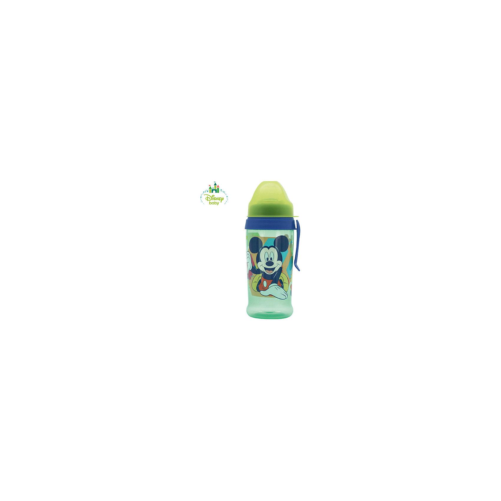 Поильник Микки DISNEY с мягким носиком, от 6 мес. 360 мл., LUBBY, голубой/зеленыйПоильник Микки DISNEY с мягким носиком, от 6 мес. 360 мл., LUBBY, голубой/зеленый.<br><br>Характеристики:<br><br>- Объем: 360 мл.<br>- Цвет: голубой, зеленый<br>- Материал поильника: полипропилен<br>- Материал носика: силикон<br>- Размер упаковки: 90x220x72 мм.<br>- Срок службы: 1 год<br>- Уход: Перед первым использованием необходимо прокипятить изделие в течение 5 минут. В дальнейшем перед каждым использованием поильник необходимо мыть теплой водой с мылом, тщательно ополаскивать. Можно мыть в посудомоечной машине<br><br>Поильник с мягким носиком и клипсой Микки идеально подойдет для комфортного и безопасного перевода ребенка на кормление без использования соски. Мягкий силиконовый носик поильника будет напоминать малышу соску, благодаря этому процесс отучения от бутылочки пройдет незаметно. Специальная форма носика позволяет предотвратить проливание жидкости, если поильник упал или перевернулся. При прорезывании зубов силиконовый носик будет успокаивать ноющие десны. Крышка защитит носик поильника от загрязнения. Клипса позволит прикрепить поильник к коляске ребенка, на ремень сумки, либо на пояс мамы. Яркий дизайн поильника с изображением неунывающего озорного мышонка Микки Мауса, героя диснеевского мультсериала, привлечет внимание малыша. Поильник изготовлен из прочного полипропилена, не содержащего бисфенол-А, безопасен для ребенка.<br><br>Поильник Микки DISNEY с мягким носиком, от 6 мес. 360 мл., LUBBY, голубой/зеленый можно купить в нашем интернет-магазине.<br><br>Ширина мм: 80<br>Глубина мм: 160<br>Высота мм: 80<br>Вес г: 350<br>Возраст от месяцев: 6<br>Возраст до месяцев: 36<br>Пол: Мужской<br>Возраст: Детский<br>SKU: 5039282