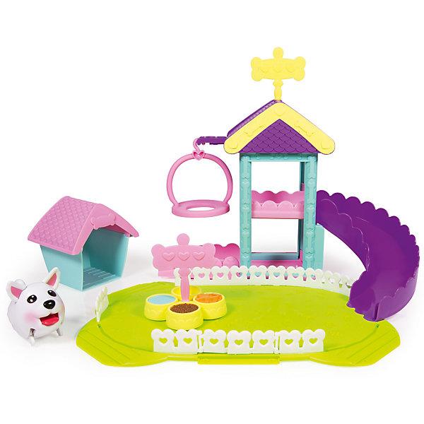 Игровой набор Парк развлечений, Chubby PuppiesМир животных<br>Характеристики товара:<br><br>- цвет: разноцветный;<br>- материал: пластик, металл;<br>- комплектация: щенок, качели, горка, аксессуары;<br>- особенности: щенок ходит;<br>- батарейки в комплекте;<br>- размер упаковки: 46 х 14 х 25 см;<br>- упаковка: картонная коробка блистерного типа;<br>- вес: 1500 г;<br>- страна обладатель бренда: Канада.<br><br>Такой веселый щенок не оставит ребенка равнодушным! Какой малыш откажется поиграть с щенком-игрушкой, который умеет забавно ходить?! Игрушка отлично детализирована, очень качественно выполнена, поэтому она станет отличным подарком ребенку. В наборе идут качели, горка и аксессуары для щенка.<br>Изделие произведено из высококачественного материала, безопасного для детей.<br><br>Игровой набор Парк развлечений от бренда Chubby Puppies можно купить в нашем интернет-магазине.<br>Ширина мм: 140; Глубина мм: 250; Высота мм: 460; Вес г: 1580; Возраст от месяцев: 36; Возраст до месяцев: 2147483647; Пол: Унисекс; Возраст: Детский; SKU: 5039855;
