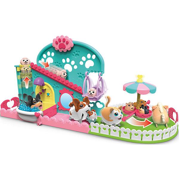 Игровой набор, Chubby PuppiesИгровые наборы с фигурками<br>Характеристики товара:<br><br>- цвет: разноцветный;<br>- материал: пластик, металл;<br>- комплектация: щенок, собачка, карусель, ванна, аксессуары;<br>- особенности: щенок ходит;<br>- батарейки в комплекте;<br>- размер упаковки: 46 х 14 х 25 см;<br>- упаковка: картонная коробка блистерного типа;<br>- вес: 550 г;<br>- страна обладатель бренда: Канада.<br><br>Такой веселый щенок не оставит ребенка равнодушным! Какой малыш откажется поиграть с щенком-игрушкой, который умеет забавно ходить?! Игрушка отлично детализирована, очень качественно выполнена, поэтому она станет отличным подарком ребенку. В наборе идут разные аксессуары для щенка.<br>Изделие произведено из высококачественного материала, безопасного для детей.<br><br>Игровой набор от бренда Chubby Puppies можно купить в нашем интернет-магазине.<br>Ширина мм: 130; Глубина мм: 250; Высота мм: 460; Вес г: 550; Возраст от месяцев: 36; Возраст до месяцев: 2147483647; Пол: Унисекс; Возраст: Детский; SKU: 5039859;