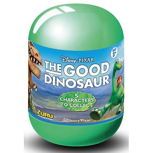 Капсула с фигуркой, 75 мм, Хороший динозавр, ZuruФигурки из мультфильмов<br>Zuru - это оригинальные коллекционные фигурки, упакованные в непрозрачную пластиковую капсулу. Они изображают главных героев мультфильма Хороший динозавр, популярного среди миллионов мальчиков и девочек во всем мире. В коллекции представлены 5 персонажей: Арло, Бур, Нэш, Рамзи и Дружок.<br><br>Ширина мм: 55<br>Глубина мм: 77<br>Высота мм: 55<br>Вес г: 45<br>Возраст от месяцев: 36<br>Возраст до месяцев: 2147483647<br>Пол: Унисекс<br>Возраст: Детский<br>SKU: 5039887