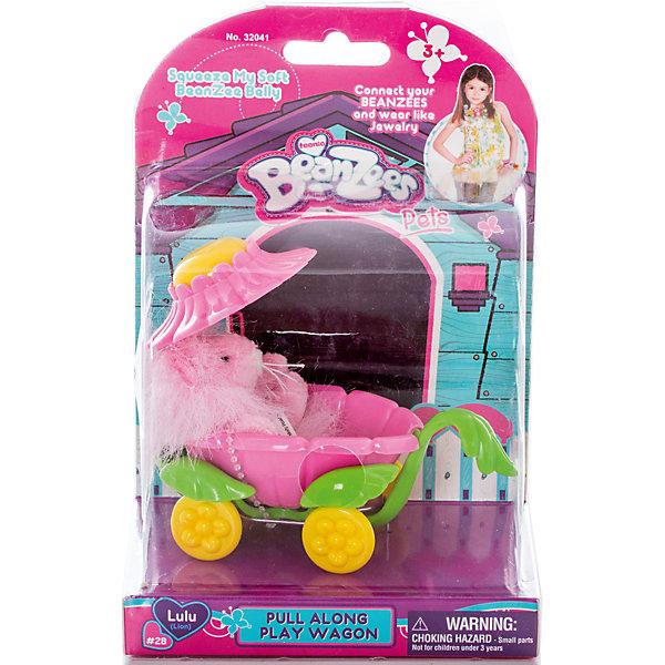 Плюшевый игровой набор Львенок на коляске, BeanzeezИгровые фигурки животных<br>Характеристики товара:<br><br>- цвет: разноцветный;<br>- материал: пластик, текстиль;<br>- комплектация: фигурка животного, аксессуар;<br>- особенности: наличие на лапках липучек, игрушку можно соединять с другими героями из серии;<br>- живот заполнен гранулами;<br>- размер упаковки: 9х18х13 см;<br>- упаковка: блистер;<br>- вес: 146 г.<br><br>Такая симпатичная фигурка не оставит ребенка равнодушным! Какой малыш откажется поиграть с маленькой плюшевой игрушкой из большой пушистой коллекции?! Игрушка очень качественно выполнена, поэтому она станет отличным подарком ребенку. В наборе идет фигурка животного и аксессуары. С ними можно придумать множество сюжетов, разыгрывая которые, ребенок развивает мелкую моторику, воображение и творческое мышление.<br>Изделие произведено из высококачественного материала, безопасного для детей.<br><br>Плюшевый игровой набор Львенок на коляске от бренда Beanzeez можно купить в нашем интернет-магазине.<br><br>Ширина мм: 85<br>Глубина мм: 180<br>Высота мм: 130<br>Вес г: 145<br>Возраст от месяцев: 36<br>Возраст до месяцев: 2147483647<br>Пол: Женский<br>Возраст: Детский<br>SKU: 5039892
