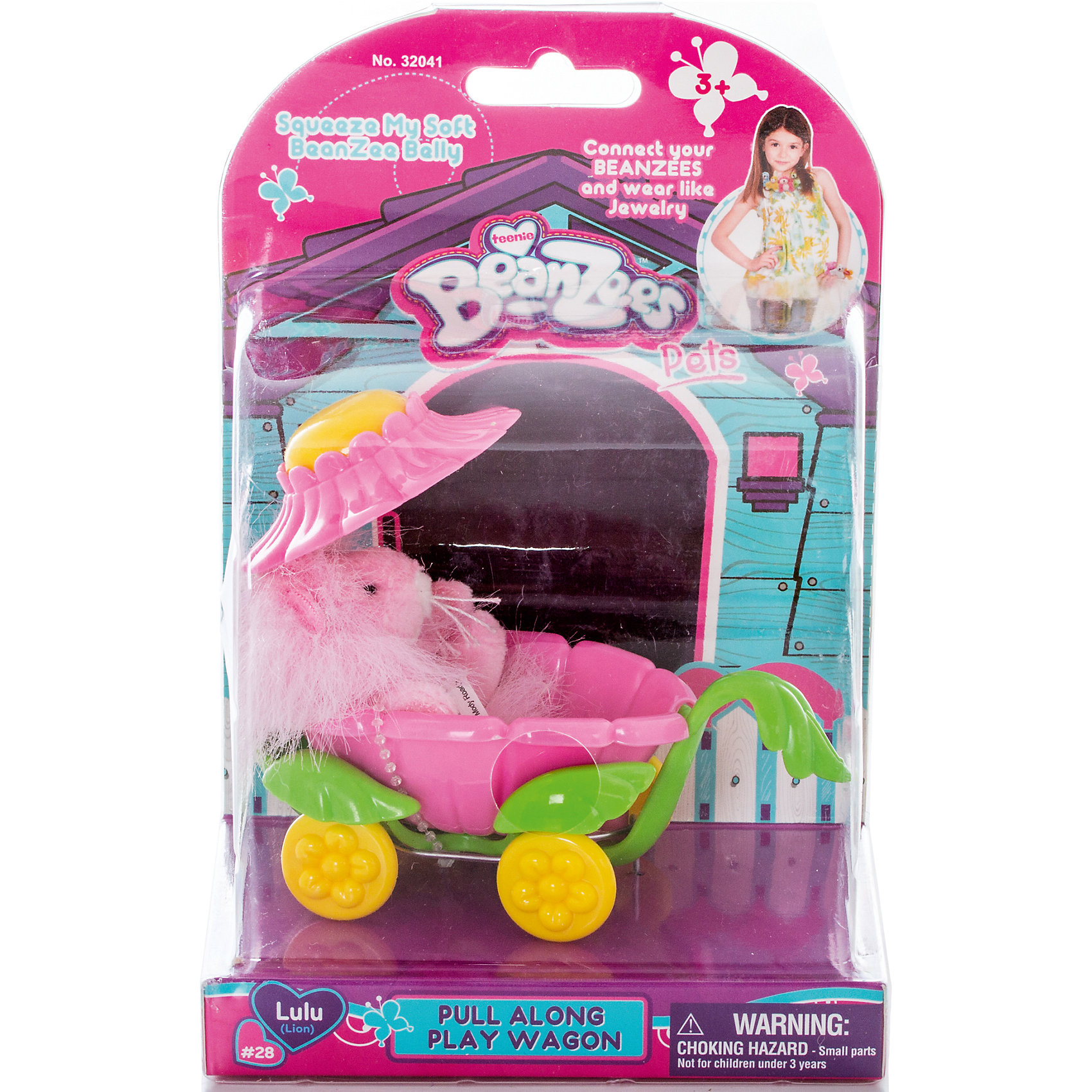 Плюшевый игровой набор Львенок на коляске, BeanzeezХарактеристики товара:<br><br>- цвет: разноцветный;<br>- материал: пластик, текстиль;<br>- комплектация: фигурка животного, аксессуар;<br>- особенности: наличие на лапках липучек, игрушку можно соединять с другими героями из серии;<br>- живот заполнен гранулами;<br>- размер упаковки: 9х18х13 см;<br>- упаковка: блистер;<br>- вес: 146 г.<br><br>Такая симпатичная фигурка не оставит ребенка равнодушным! Какой малыш откажется поиграть с маленькой плюшевой игрушкой из большой пушистой коллекции?! Игрушка очень качественно выполнена, поэтому она станет отличным подарком ребенку. В наборе идет фигурка животного и аксессуары. С ними можно придумать множество сюжетов, разыгрывая которые, ребенок развивает мелкую моторику, воображение и творческое мышление.<br>Изделие произведено из высококачественного материала, безопасного для детей.<br><br>Плюшевый игровой набор Львенок на коляске от бренда Beanzeez можно купить в нашем интернет-магазине.<br><br>Ширина мм: 85<br>Глубина мм: 180<br>Высота мм: 130<br>Вес г: 145<br>Возраст от месяцев: 36<br>Возраст до месяцев: 2147483647<br>Пол: Женский<br>Возраст: Детский<br>SKU: 5039892