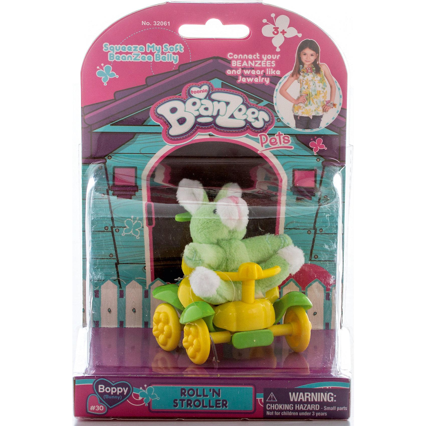 Плюшевый игровой набор Зайчик в каталке, BeanzeezЗайцы и кролики<br>Характеристики товара:<br><br>- цвет: разноцветный;<br>- материал: пластик, текстиль;<br>- комплектация: фигурка животного, аксессуар;<br>- особенности: наличие на лапках липучек, игрушку можно соединять с другими героями из серии;<br>- живот заполнен гранулами;<br>- размер упаковки: 9х18х13 см;<br>- упаковка: блистер;<br>- вес: 146 г.<br><br>Такая симпатичная фигурка не оставит ребенка равнодушным! Какой малыш откажется поиграть с маленькой плюшевой игрушкой из большой пушистой коллекции?! Игрушка очень качественно выполнена, поэтому она станет отличным подарком ребенку. В наборе идет фигурка животного и аксессуары. С ними можно придумать множество сюжетов, разыгрывая которые, ребенок развивает мелкую моторику, воображение и творческое мышление.<br>Изделие произведено из высококачественного материала, безопасного для детей.<br><br>Плюшевый игровой набор Зайчик в каталке от бренда Beanzeez можно купить в нашем интернет-магазине.<br><br>Ширина мм: 85<br>Глубина мм: 180<br>Высота мм: 130<br>Вес г: 145<br>Возраст от месяцев: 36<br>Возраст до месяцев: 2147483647<br>Пол: Женский<br>Возраст: Детский<br>SKU: 5039894