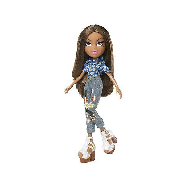 Кукла делюкс Жасмин, Давай знакомиться, BratzКуклы<br>Характеристики товара:<br><br>- цвет: разноцветный;<br>- материал: пластик, текстиль;<br>- особенности: руки и ноги сгибаются;<br>- размер упаковки: 18х31х7 см;<br>- размер куклы: 27 см.<br><br>Такие красивые куклы не оставят ребенка равнодушным! Какая девочка откажется поиграть с куклой Bratz?! Игрушка отлично детализирована, очень качественно выполнена, поэтому она станет отличным подарком ребенку. В наборе идут одежда и аксессуары, которыми можно украсить куклу!<br>Изделие произведено из высококачественного материала, безопасного для детей.<br><br>Куклу делюкс Жасмин, Давай знакомиться, от бренда Bratz можно купить в нашем интернет-магазине.<br>Ширина мм: 180; Глубина мм: 310; Высота мм: 70; Вес г: 400; Возраст от месяцев: 48; Возраст до месяцев: 2147483647; Пол: Женский; Возраст: Детский; SKU: 5040282;