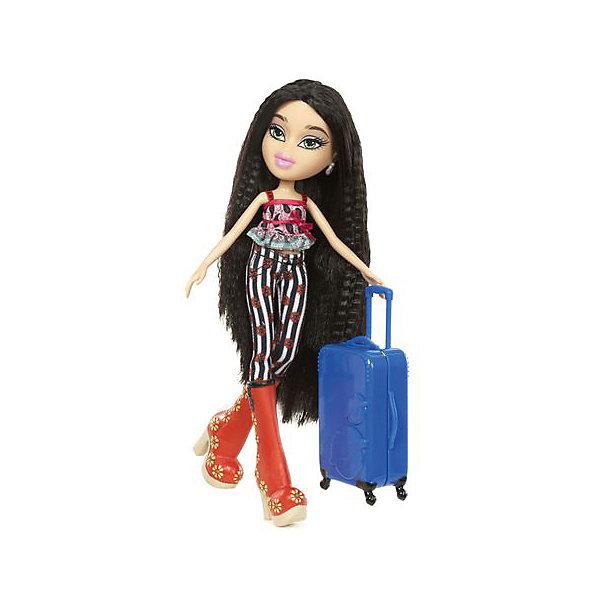 Кукла делюкс Джей, В путешествии, BratzКуклы<br>Характеристики товара:<br><br>- цвет: разноцветный;<br>- материал: пластик, текстиль;<br>- тематика: путешествие по России;<br>- особенности: руки и ноги сгибаются;<br>- комплектация: кукла, два набора одежды, аксессуары, чемодан;<br>- размер упаковки: 26х32х6 см;<br>- размер куклы: 27 см.<br><br>Такие красивые куклы не оставят ребенка равнодушным! Какая девочка откажется поиграть с куклой Bratz?! Игрушка отлично детализирована, очень качественно выполнена, поэтому она станет отличным подарком ребенку. В наборе идут одежда и аксессуары, которыми можно украсить куклу!<br>Изделие произведено из высококачественного материала, безопасного для детей.<br><br>Куклу делюкс Джей, В путешествии от бренда Bratz можно купить в нашем интернет-магазине.<br><br>Ширина мм: 260<br>Глубина мм: 320<br>Высота мм: 60<br>Вес г: 540<br>Возраст от месяцев: 48<br>Возраст до месяцев: 2147483647<br>Пол: Женский<br>Возраст: Детский<br>SKU: 5040285