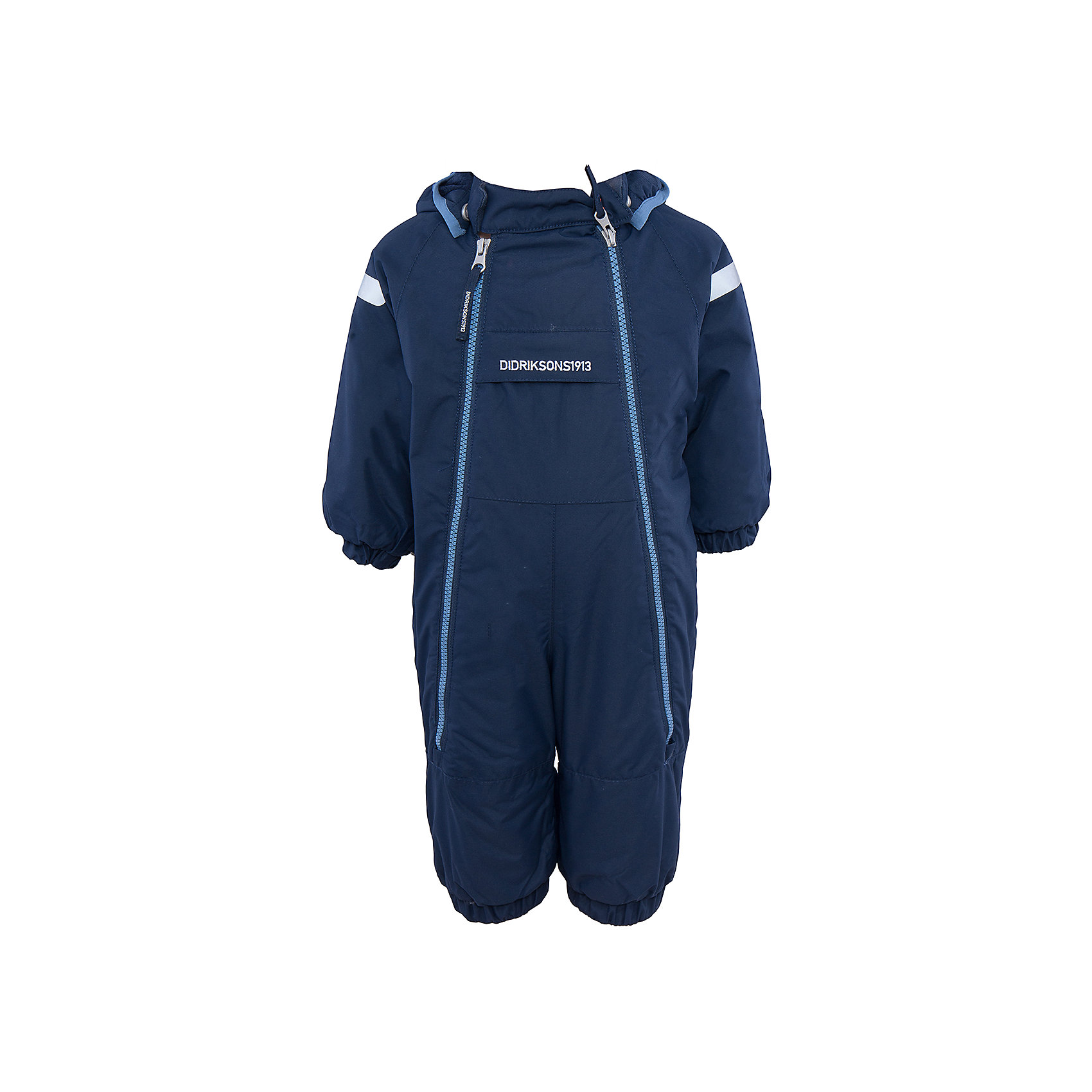 Комбинезон Borga DIDRIKSONSВерхняя одежда<br>Характеристики товара:<br><br>• цвет: синий<br>• материал: 100% полиамид, подкладка 100% полиэстер<br>• утеплитель: 120 г/м<br>• сезон: зима<br>• температурный режим от +5 до -20С<br>• непромокаемая и непродуваемая ткань<br>• манжеты и низ штанин на резинке<br>• дополнительная пропитка верха<br>• прокленные швы<br>• регулируемый съемный капюшон<br>• две фронтальных молнии<br>• светоотражающие детали<br>• страна бренда: Швеция<br>• страна производства: Бангладеш<br><br>Такой комбинезон незаменим дя малышей в межсезонье! Это не только стильно, но еще и очень комфортно, а также тепло. Он обеспечит ребенку удобство при прогулках. Комбинезон от шведского производителя легко трансформируется под погодные условия.<br>Модель сшита из непродуваемой ткани, она еще и не продувается. Очень стильная и удобная модель! Изделие качественно выполнено, сделано из безопасных для детей материалов. <br><br>Комбинезон от бренда DIDRIKSONS можно купить в нашем интернет-магазине.<br><br>Ширина мм: 356<br>Глубина мм: 10<br>Высота мм: 245<br>Вес г: 519<br>Цвет: голубой<br>Возраст от месяцев: 12<br>Возраст до месяцев: 15<br>Пол: Мужской<br>Возраст: Детский<br>Размер: 80,60,70<br>SKU: 5043909