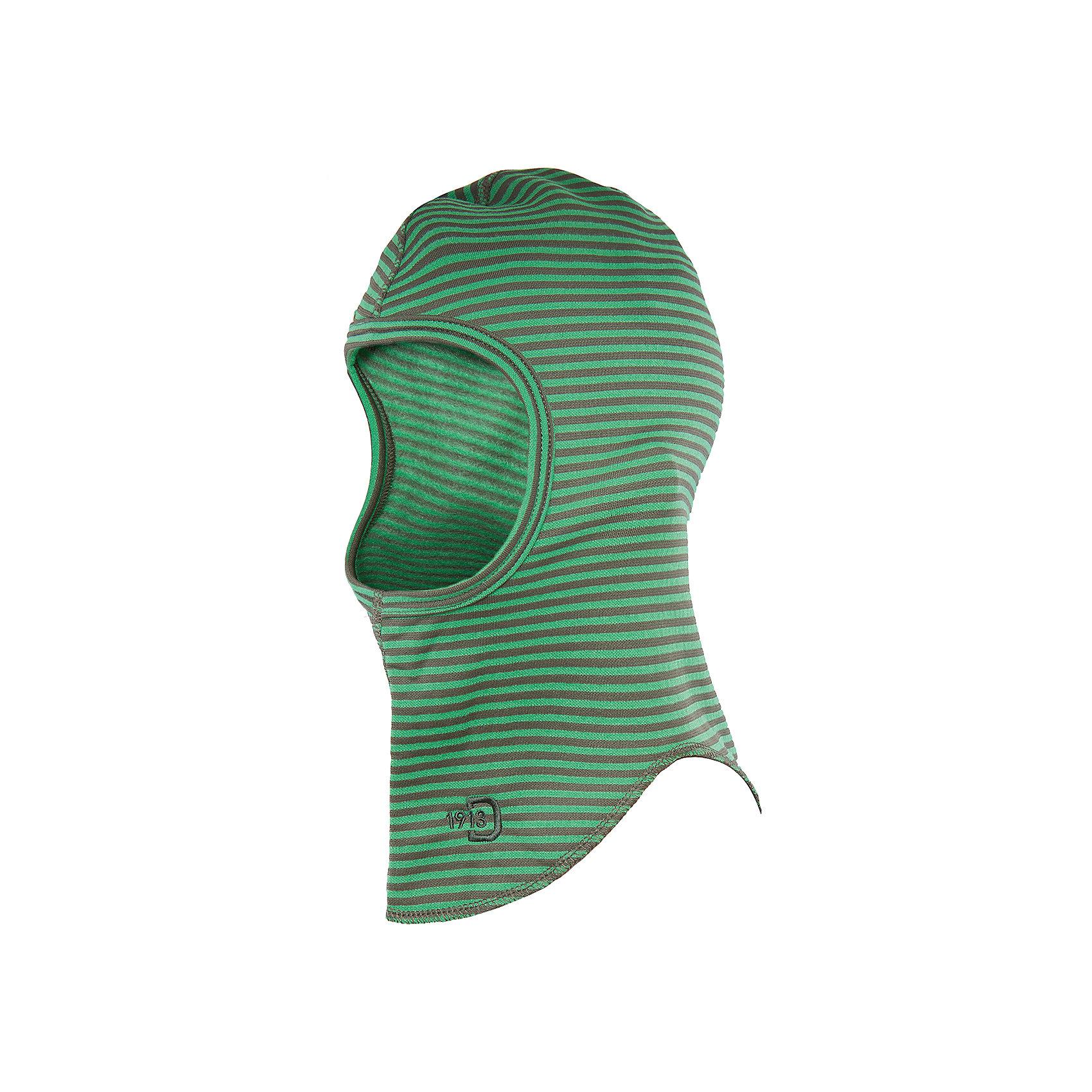 Шапка-шлем Kids Fleece Balaklava DIDRIKSONSГоловные уборы<br>Характеристики товара:<br><br>• цвет: зеленый<br>• материал: полиэстер 100%<br>• можно надевать под зимнюю шапку или спортивный шлем<br>• сезон: зима, демисезон<br>• эластичный материал<br>• страна бренда: Швеция<br>• страна производства: Китай<br><br>Такие шапки сейчас на пике молодежной моды! Это не только стильно, но еще и очень комфортно, а также тепло. Эта качественная шапка обеспечит ребенку удобство при прогулках и активном отдыхе зимой или в межсезонье. Такая модель от шведского производителя отлично смотрится с разной верхней одеждой.<br>Шапка сшита из эластичного материала, который обеспечит комфортную и красивую посадку. Очень стильная и удобная модель! Изделие качественно выполнено, сделано из безопасных для детей материалов. <br><br>Шапку от бренда DIDRIKSONS можно купить в нашем интернет-магазине.<br><br>Ширина мм: 89<br>Глубина мм: 117<br>Высота мм: 44<br>Вес г: 155<br>Цвет: зеленый<br>Возраст от месяцев: 12<br>Возраст до месяцев: 144<br>Пол: Мужской<br>Возраст: Детский<br>Размер: one size<br>SKU: 5044029
